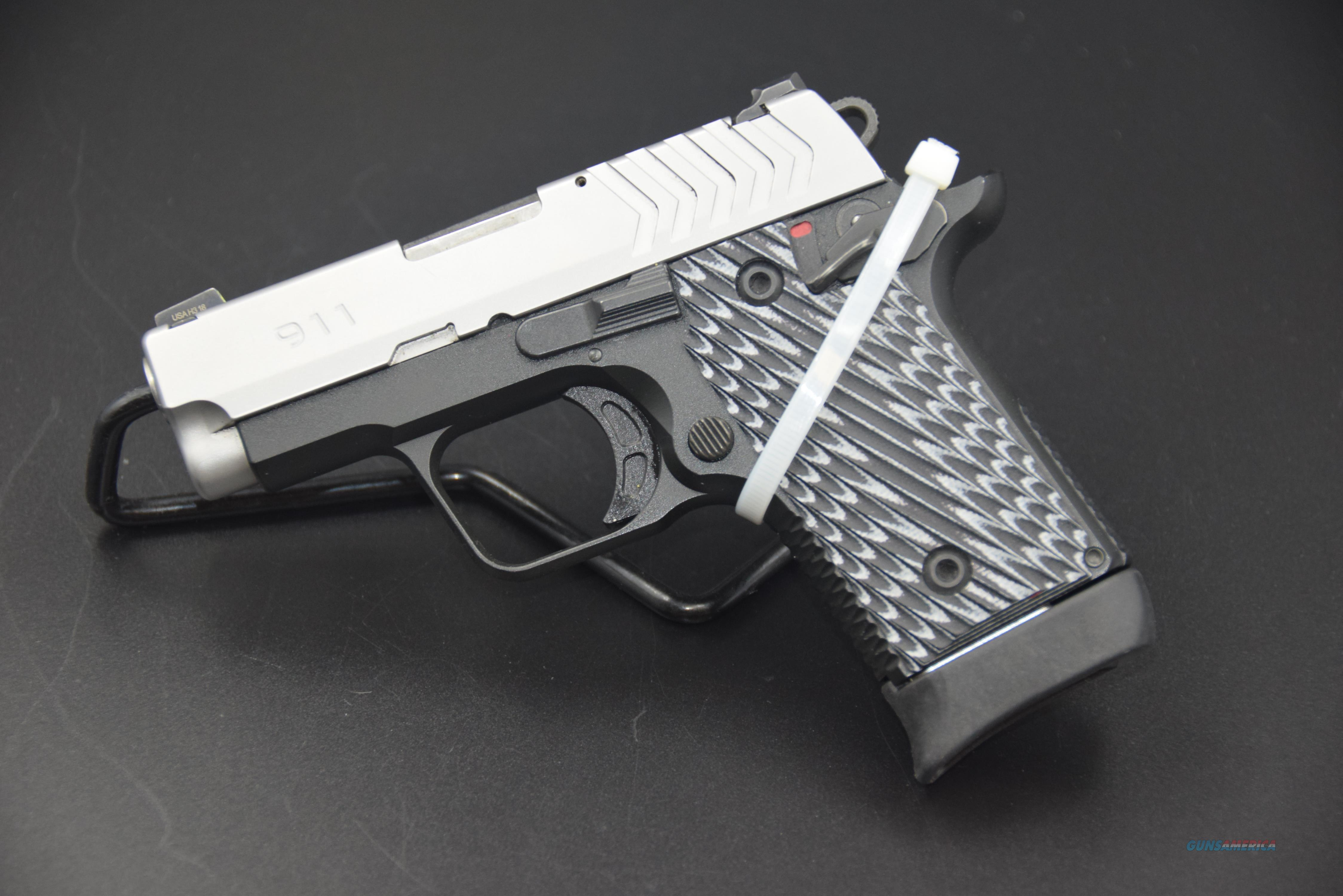 SPRINGFIELD ARMORY MODEL 911 PISTOL IN .380 ACP, TWO-TONE WITH G-10 GRIPS -- REDUCED!!  Guns > Pistols > Springfield Armory Pistols > 911