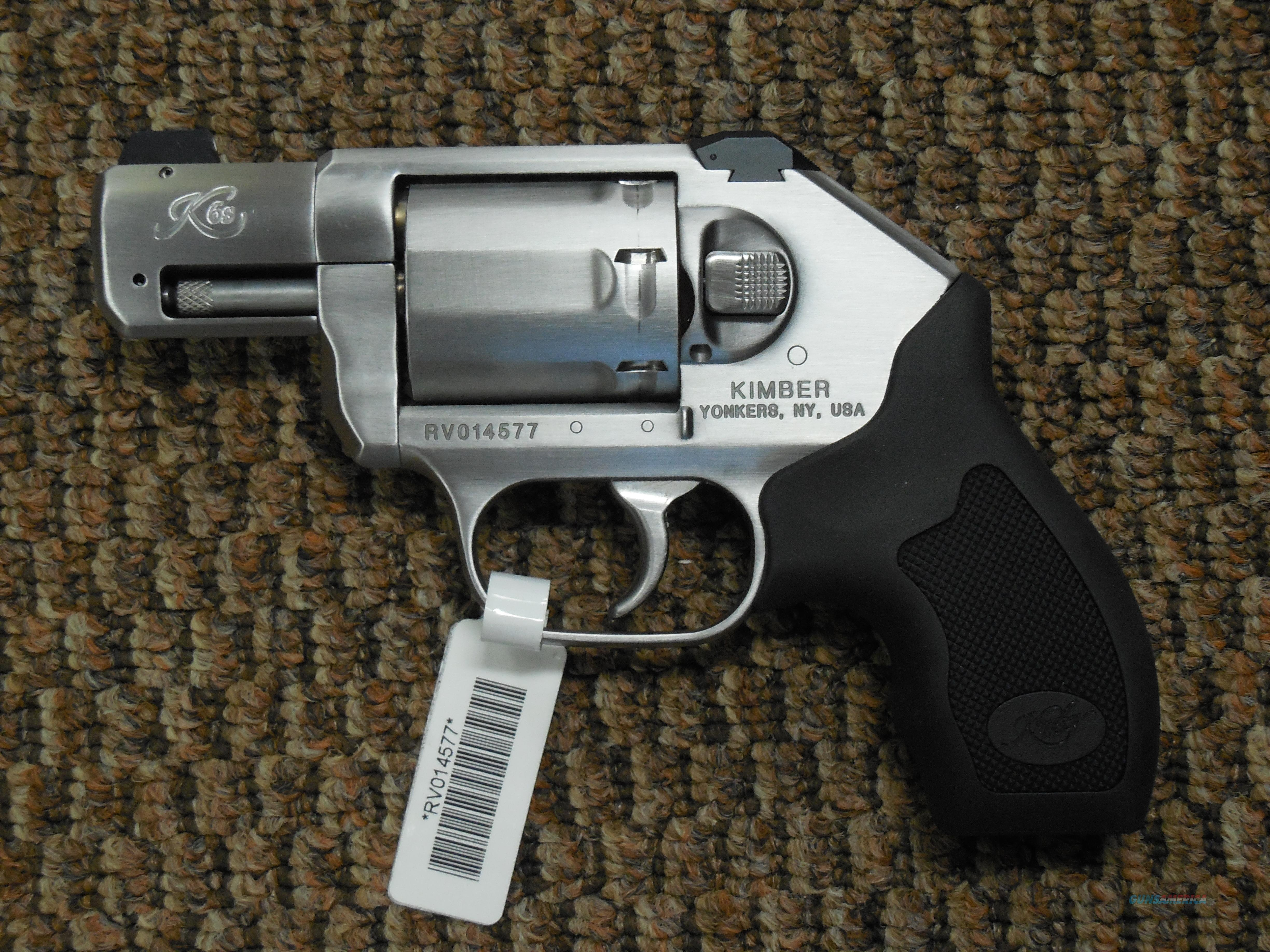 KIMBER K6S REVOLVER IN .357 MAGNUM -- REDUCED  Guns > Pistols > Kimber of America Pistols > Revolvers