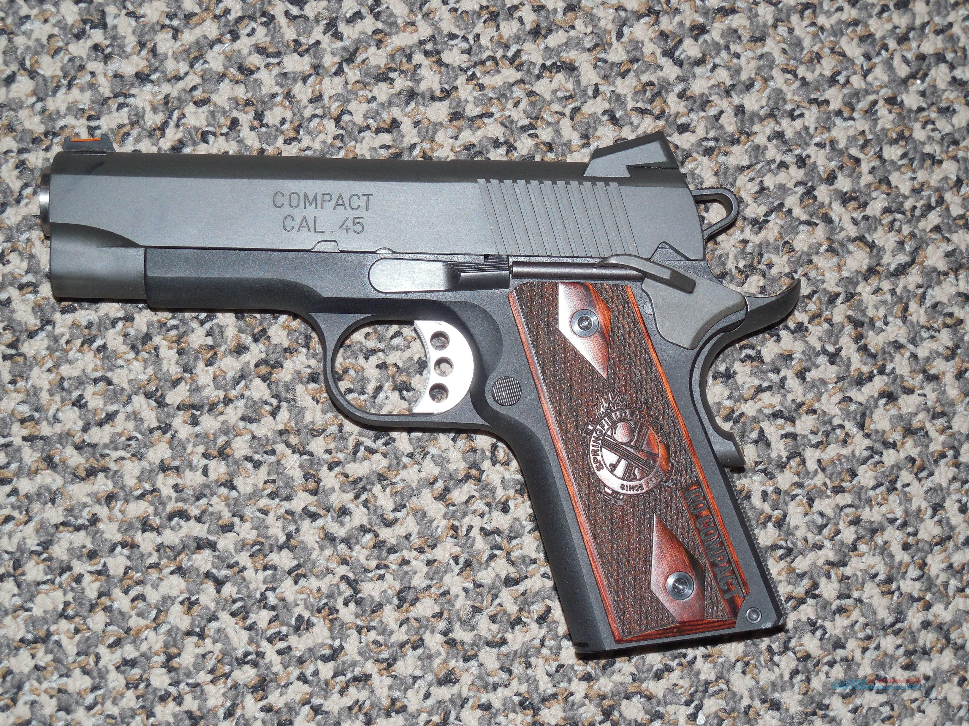 SPRINGFIELD ARMORY 1911 COMPACT LIGHTWEIGHT RANGE OFFICER IN .45 ACP  Guns > Pistols > Springfield Armory Pistols > 1911 Type