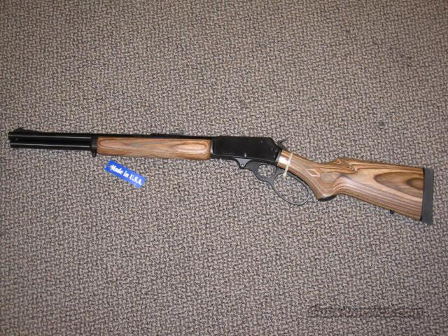MARLIN 1895 .45-70 GUIDE GUN BLUE/LAMINATE  Guns > Rifles > Marlin Rifles > Modern > Lever Action