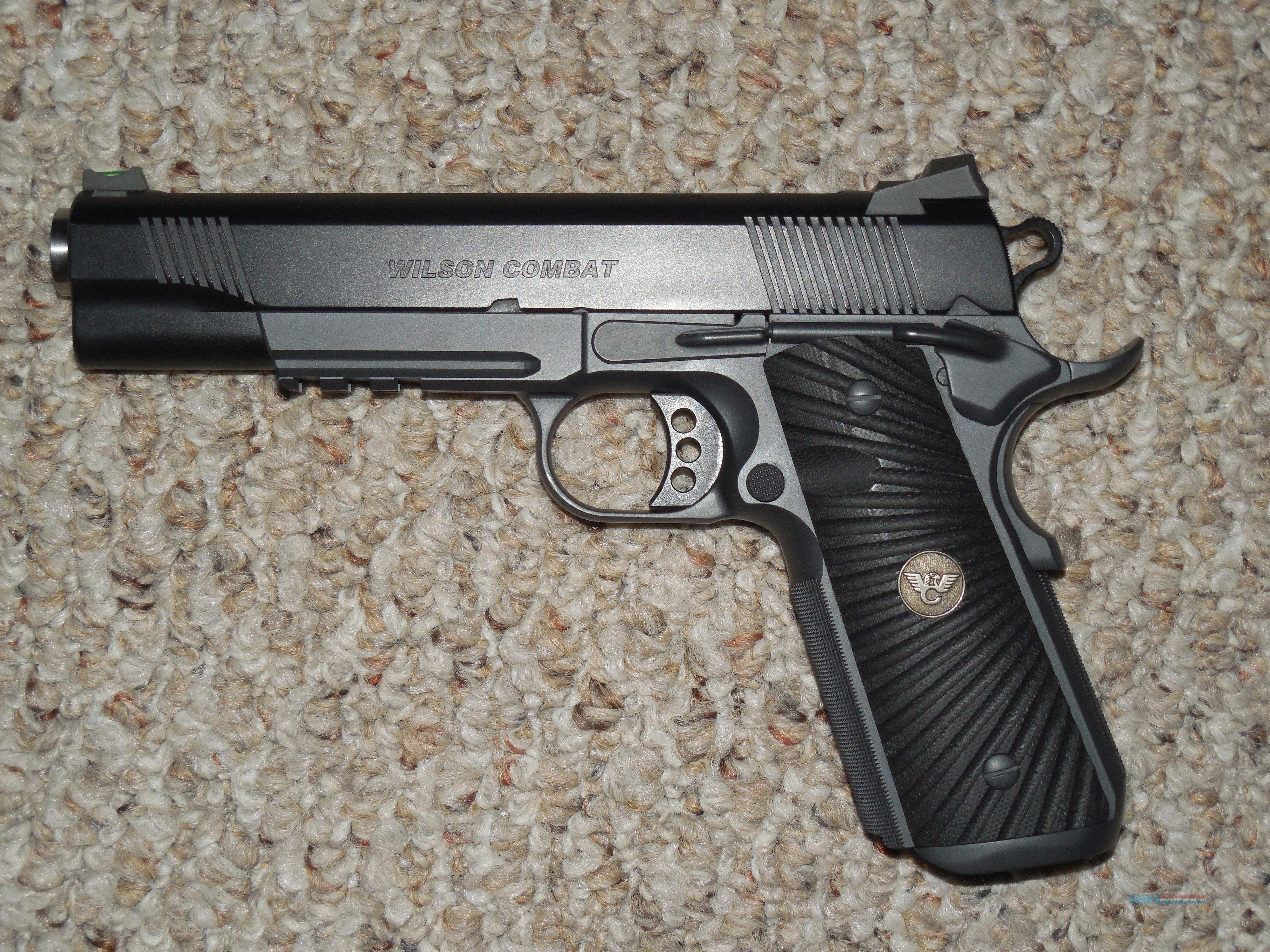 "WILSON ""CQB TACTICAL LE"" .45 ACP PISTOL WITH UPGRADES  Guns > Pistols > Wilson Combat Pistols"
