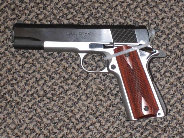 SPRINGFIELD ARMORY 1911A1 TWO-TONE  Guns > Pistols > Springfield Armory Pistols > 1911 Type
