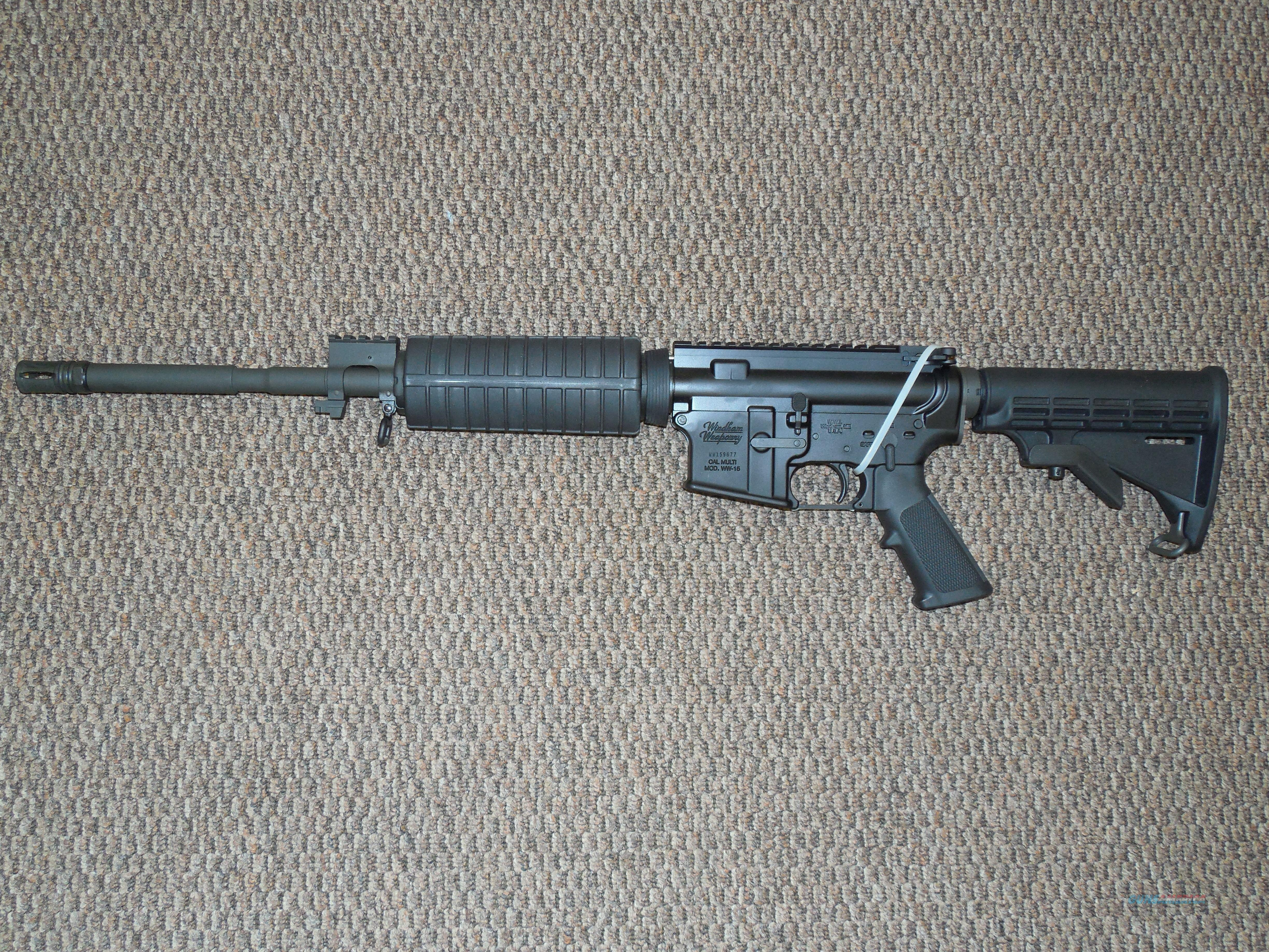 WINDHAM WEAPONARY AR-RIFLE IN 7.62x39 MM WITH 10-MAGAZINES!  Guns > Rifles > Windham Weaponry Rifles