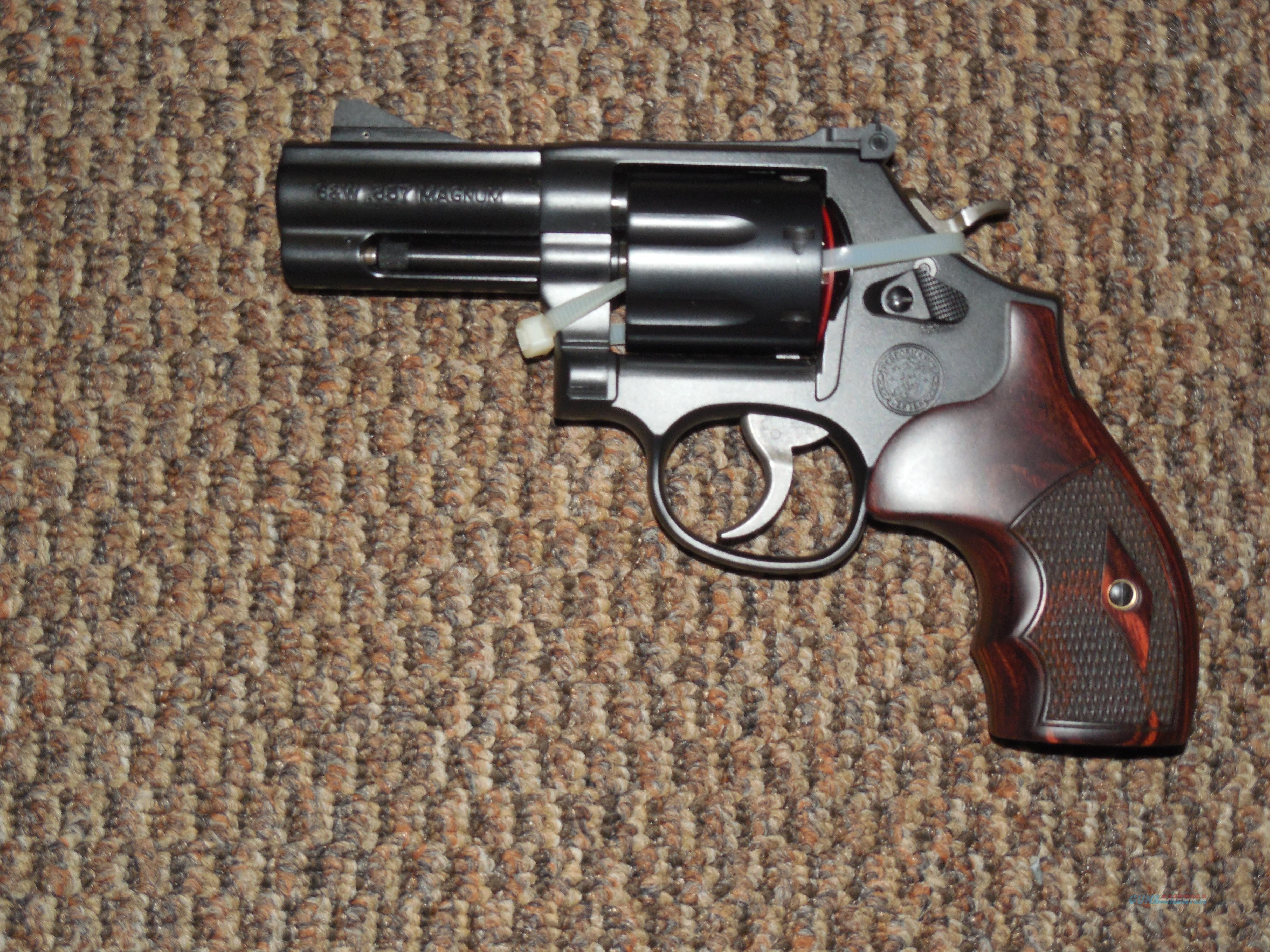 "S&W MODEL 586 ""L-COMP"" PERFORMANCE CENTER  .357 MAGNUM REVOLVER  Guns > Pistols > Smith & Wesson Revolvers > Med. Frame ( K/L )"