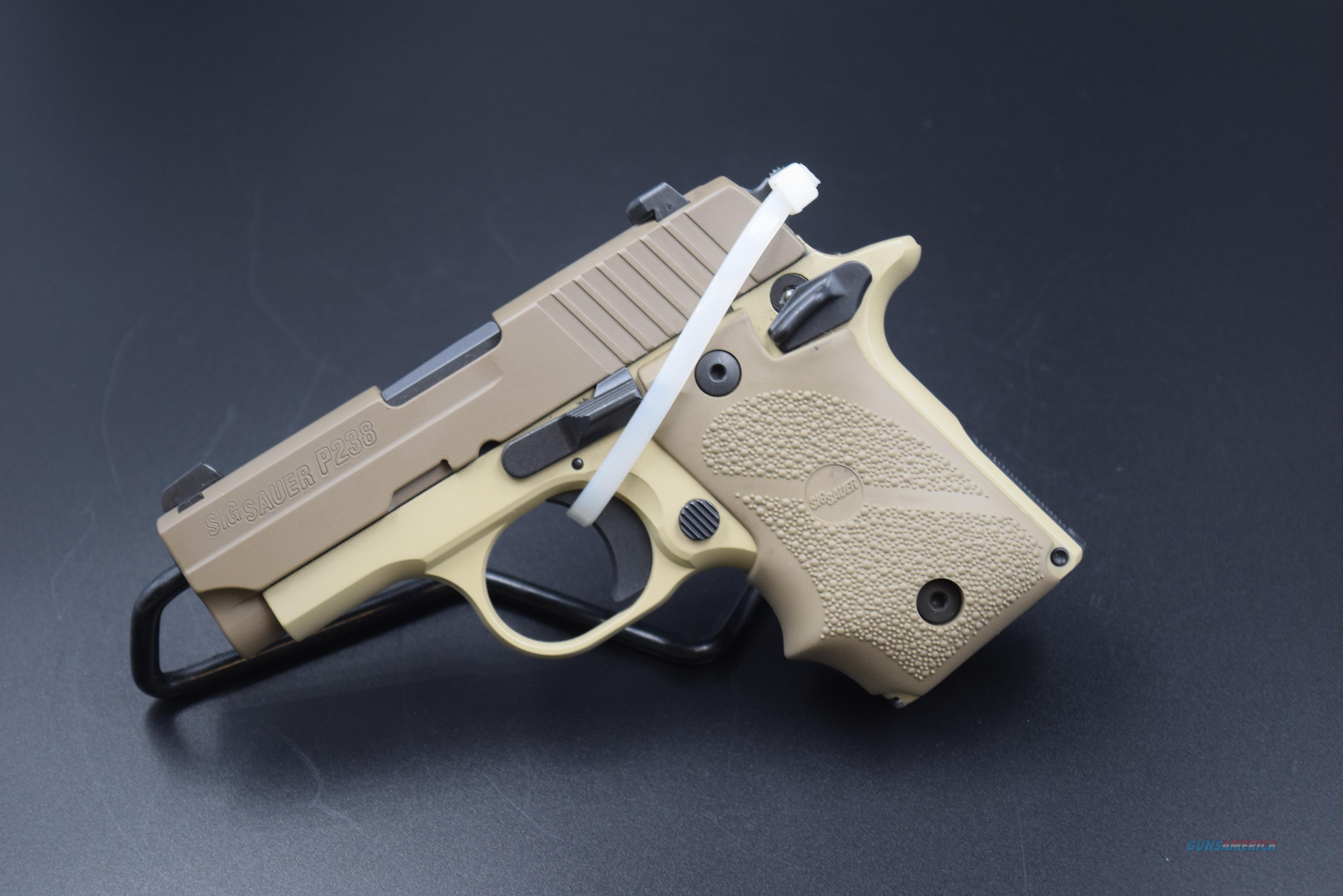 "SIG SAUER P-238 ""DESERT"" 380 ACP PISTOL  Guns > Pistols > Sig - Sauer/Sigarms Pistols > P228"