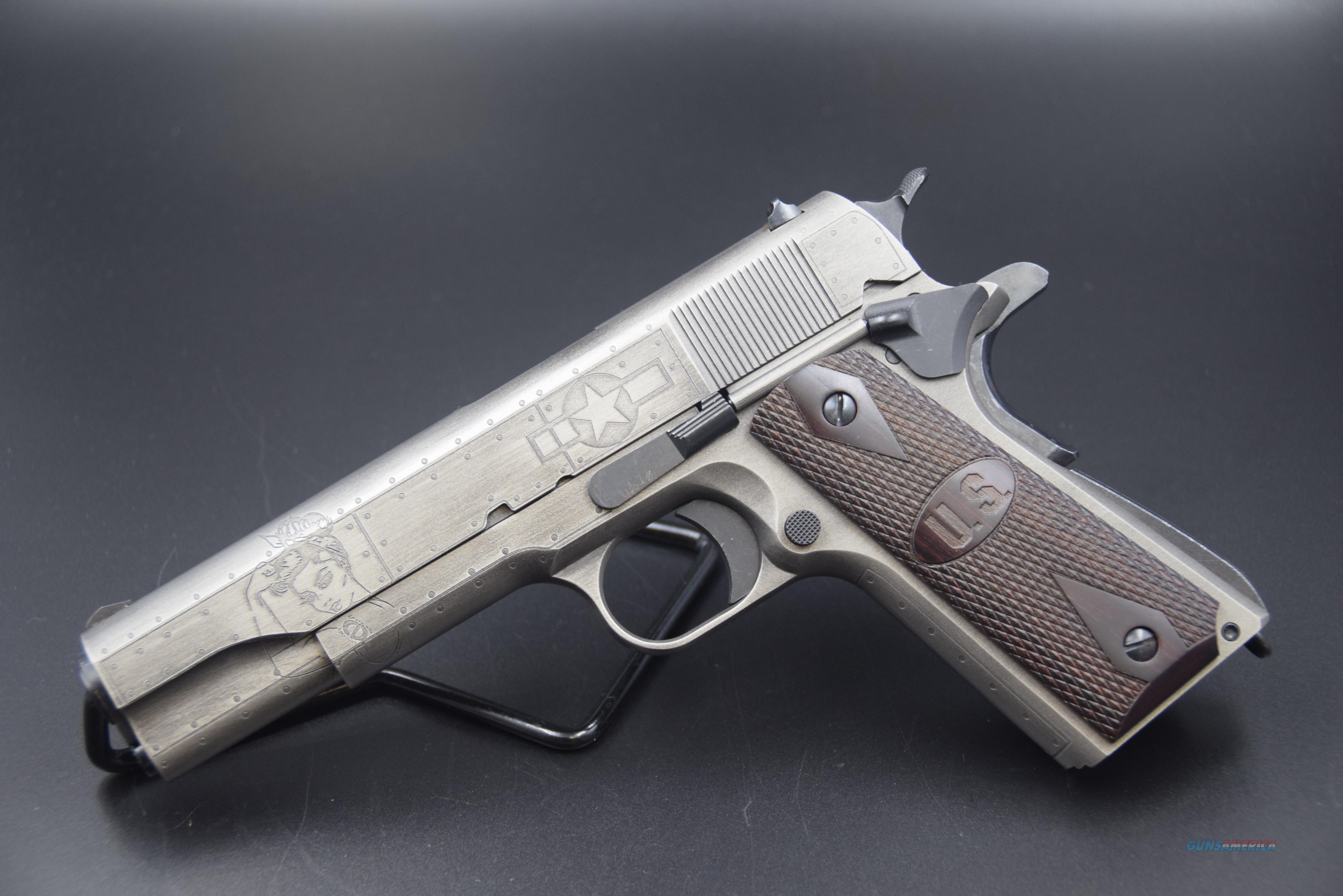 "CLASSIC ""VICTORY GIRLS"" 1911 AUTO ORDNANCE .45 ACP PISTOL -- REDUCED  Guns > Pistols > Auto Ordnance Pistols"