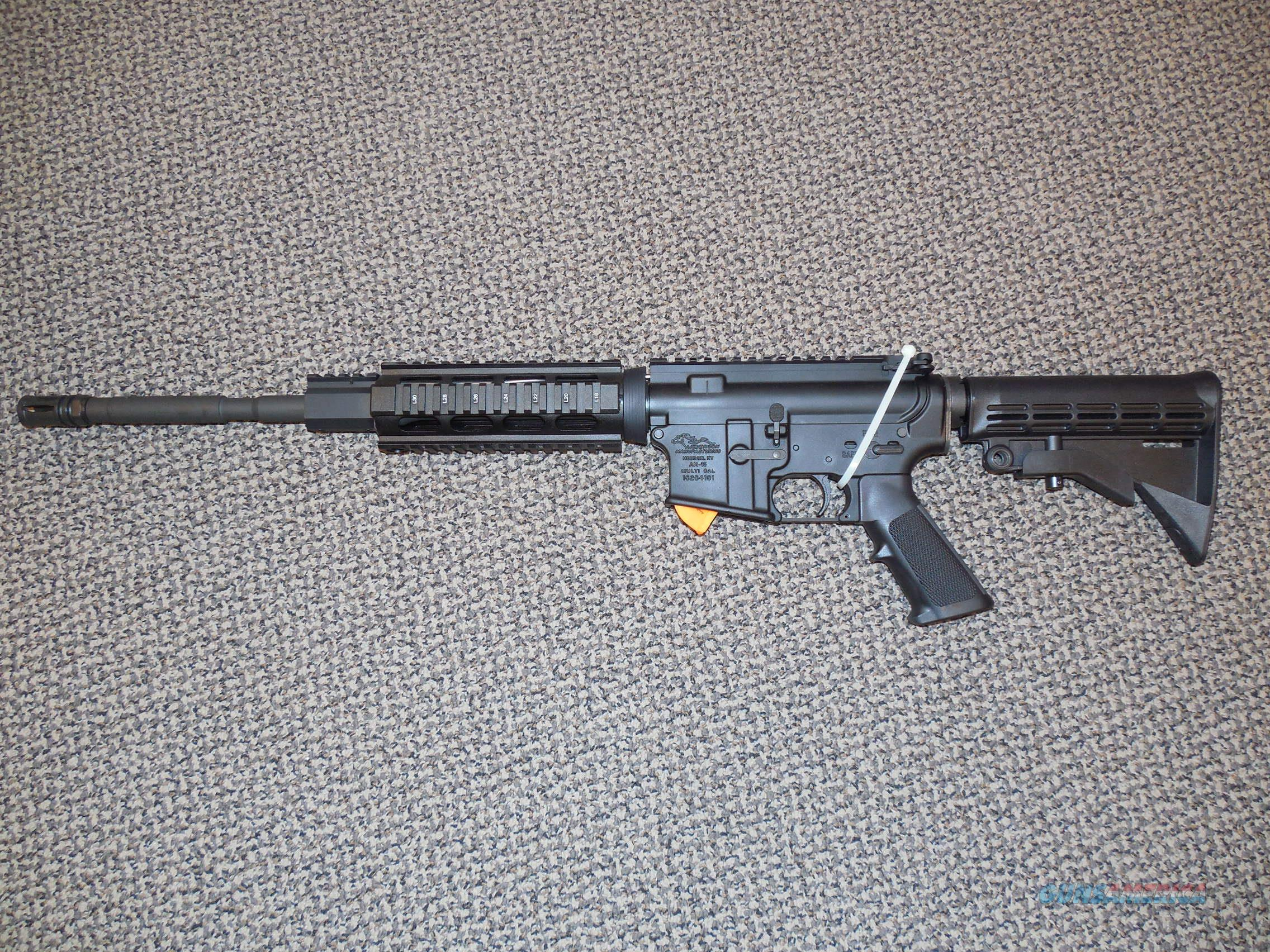 ANDERSON AM-15 TACTICAL CARBINE WITH QUAD RAIL  Guns > Rifles > AR-15 Rifles - Small Manufacturers > Complete Rifle