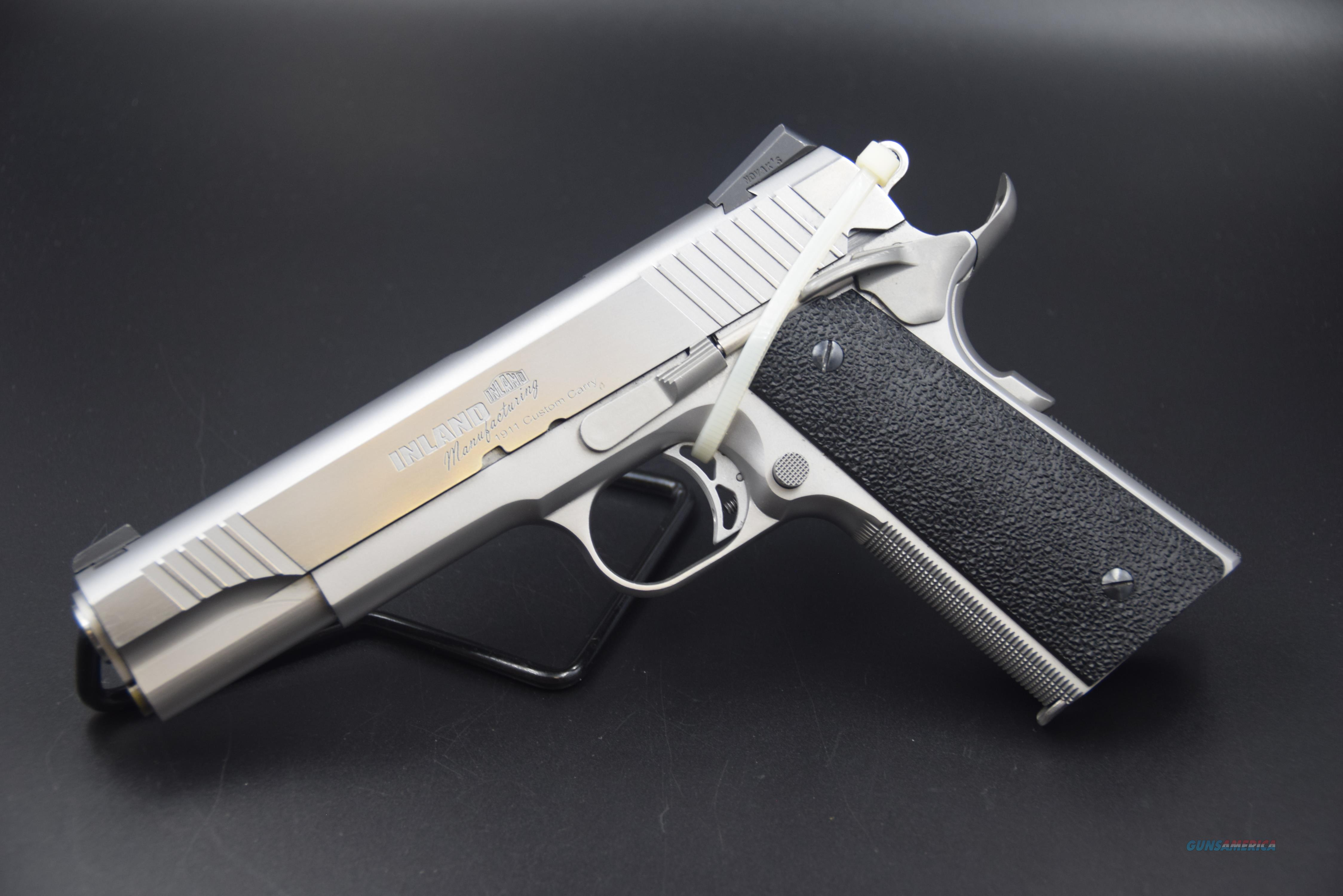 """""""CUSTOM CARRY"""" 1911 BY INLAND MANUFACTURING IN .45 ACP -- REDUCED WITH SHIPPING INCLUDED!!!  Guns > Pistols > Inland Manufacturing Pistols"""