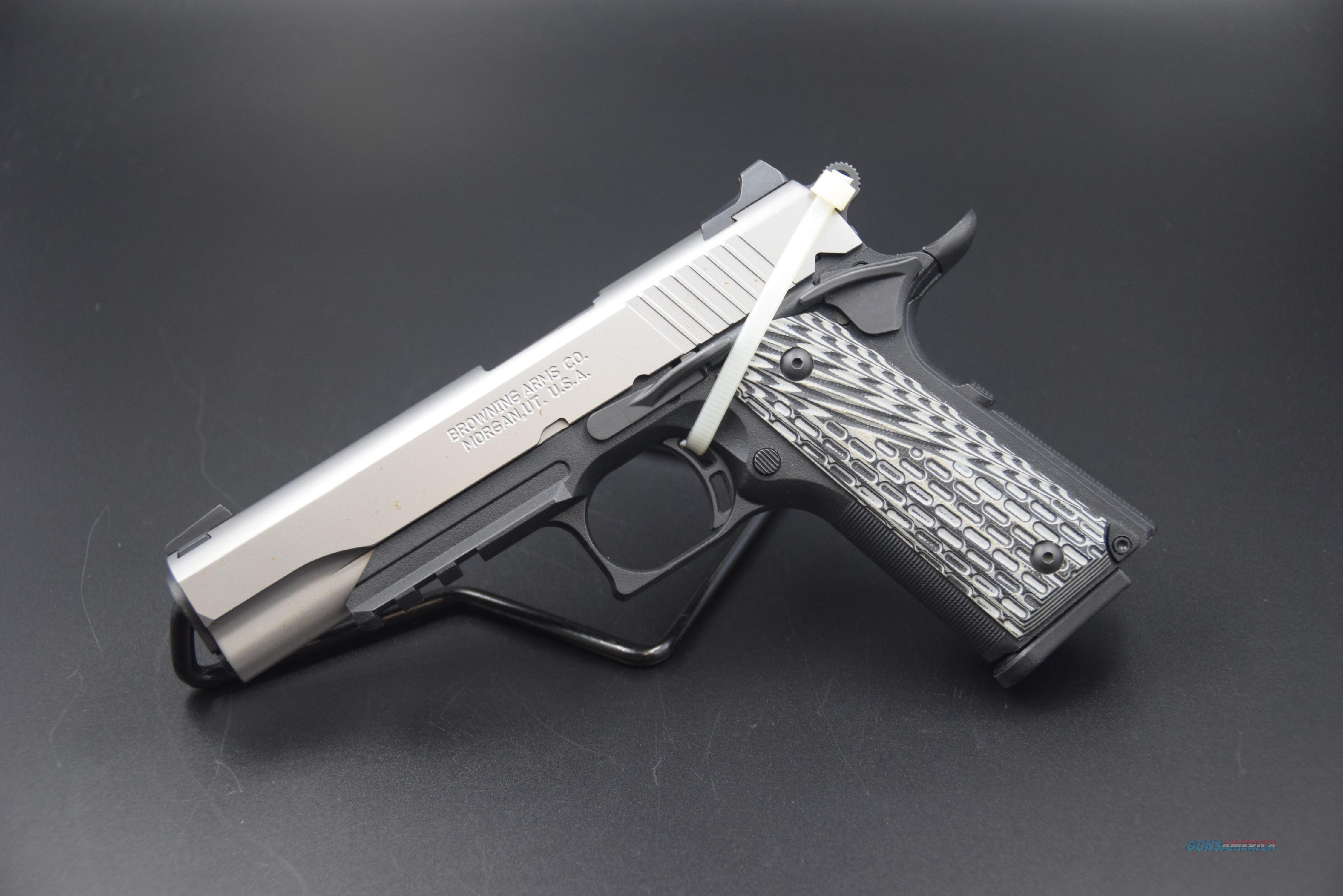 BROWNING 1911-380 BLACK LABEL PRO SS  Guns > Pistols > Browning Pistols > Other Autos