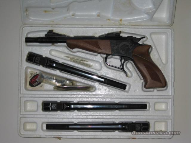 Early TC Contender Set, Four Barrels  Guns > Pistols > Thompson Center Pistols > Contender