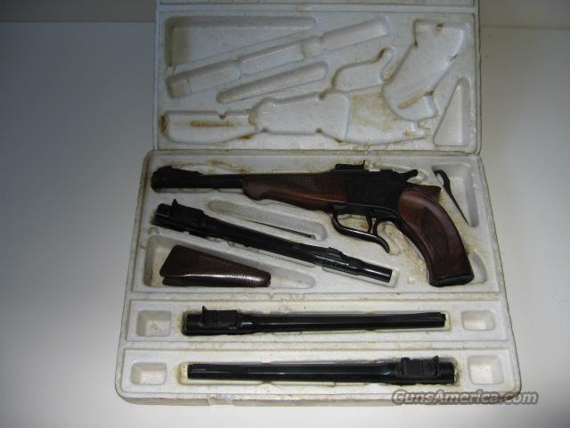 Early TC Contender Set  Guns > Pistols > Thompson Center Pistols > Contender