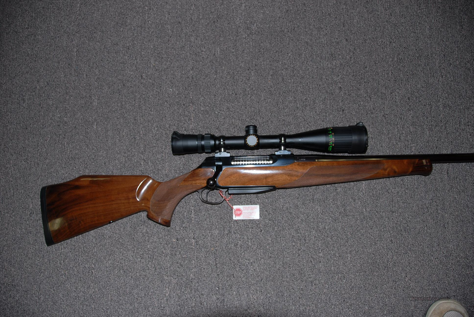 Sauer 202 Delux, .300 Win Mag w/scope  Guns > Rifles > Sigarms Rifles