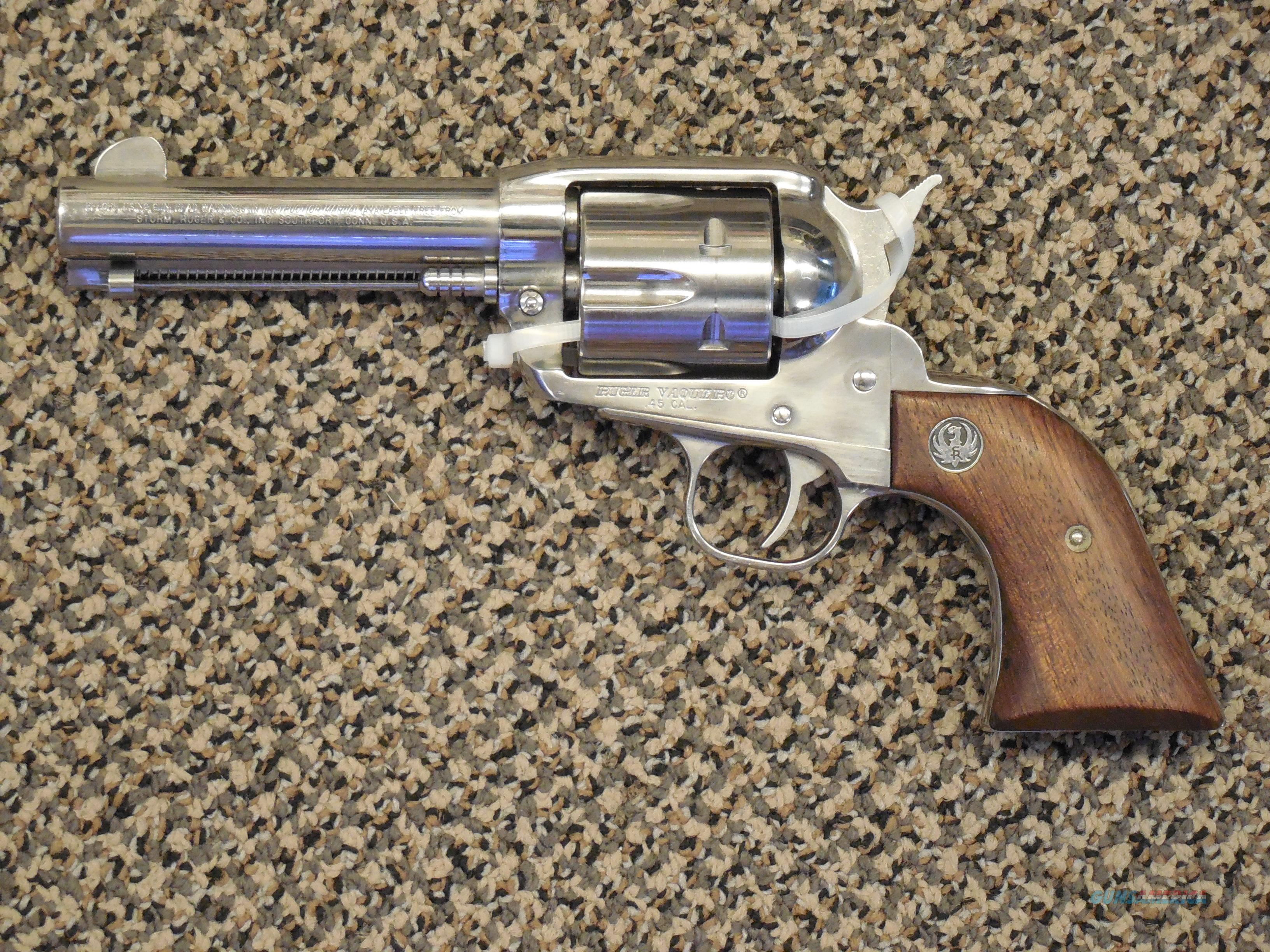 RUGER VAQUERO IN .45 ACP  Guns > Pistols > Ruger Single Action Revolvers > Cowboy Action