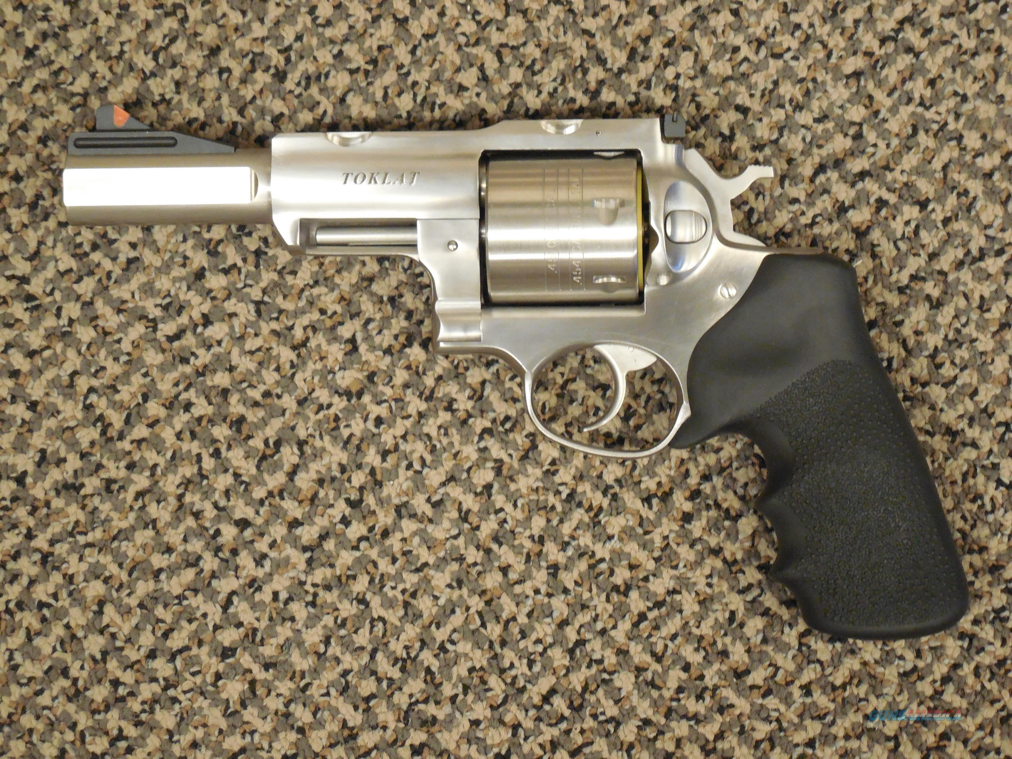 "RUGER SUPER REDHAWK ALASKAN ""TOKLAT"" FIVE-INCH .454 CASULL  Guns > Pistols > Ruger Double Action Revolver > Redhawk Type"