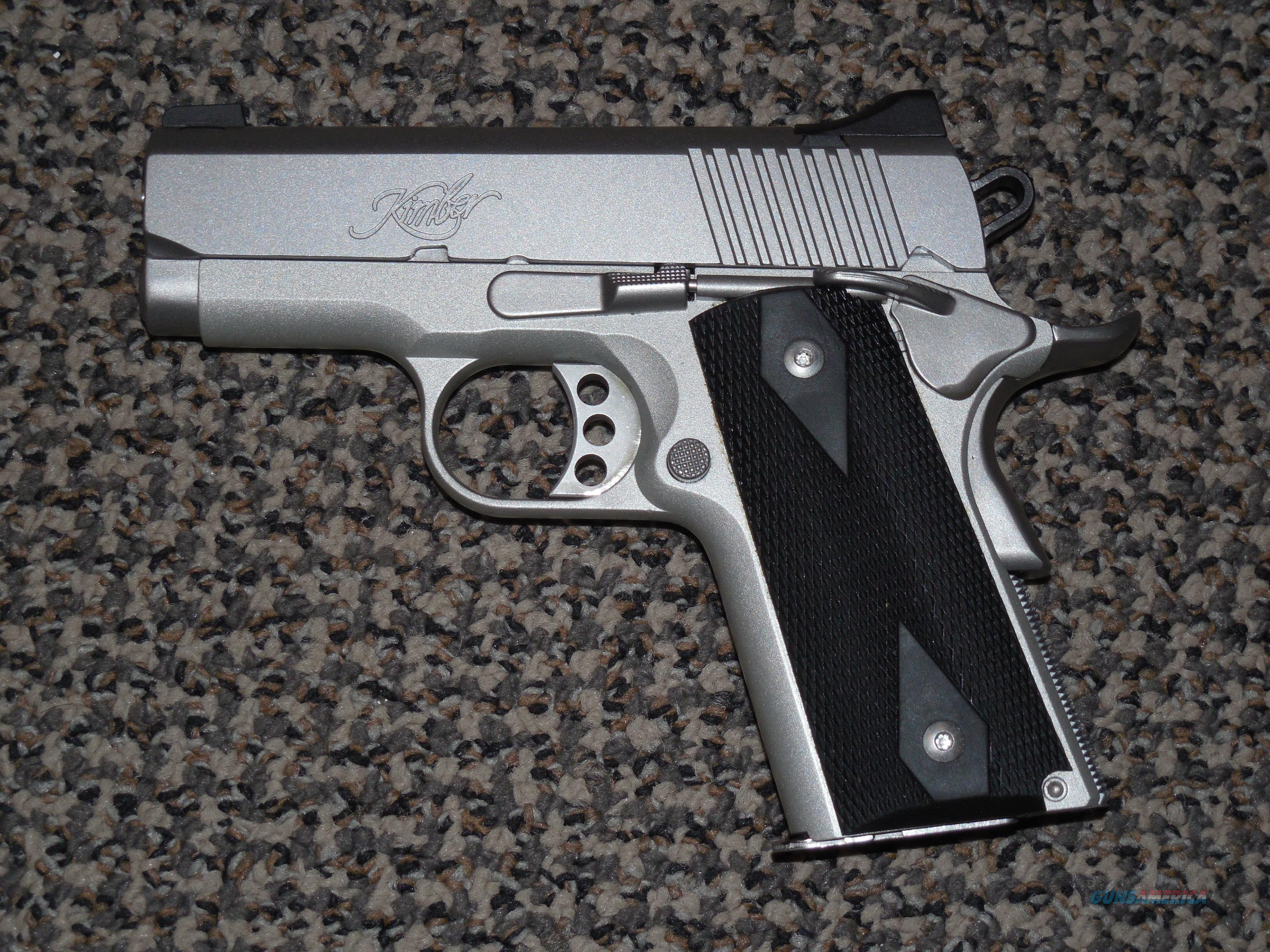 KIMBER STAINLESS ULTRA CARRY II IN .45 ACP  Guns > Pistols > Kimber of America Pistols