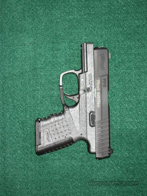 WALTHER PPS, 9 mm -- FIRST EDITION!!!  Guns > Pistols > Walther Pistols > Post WWII > PP Series