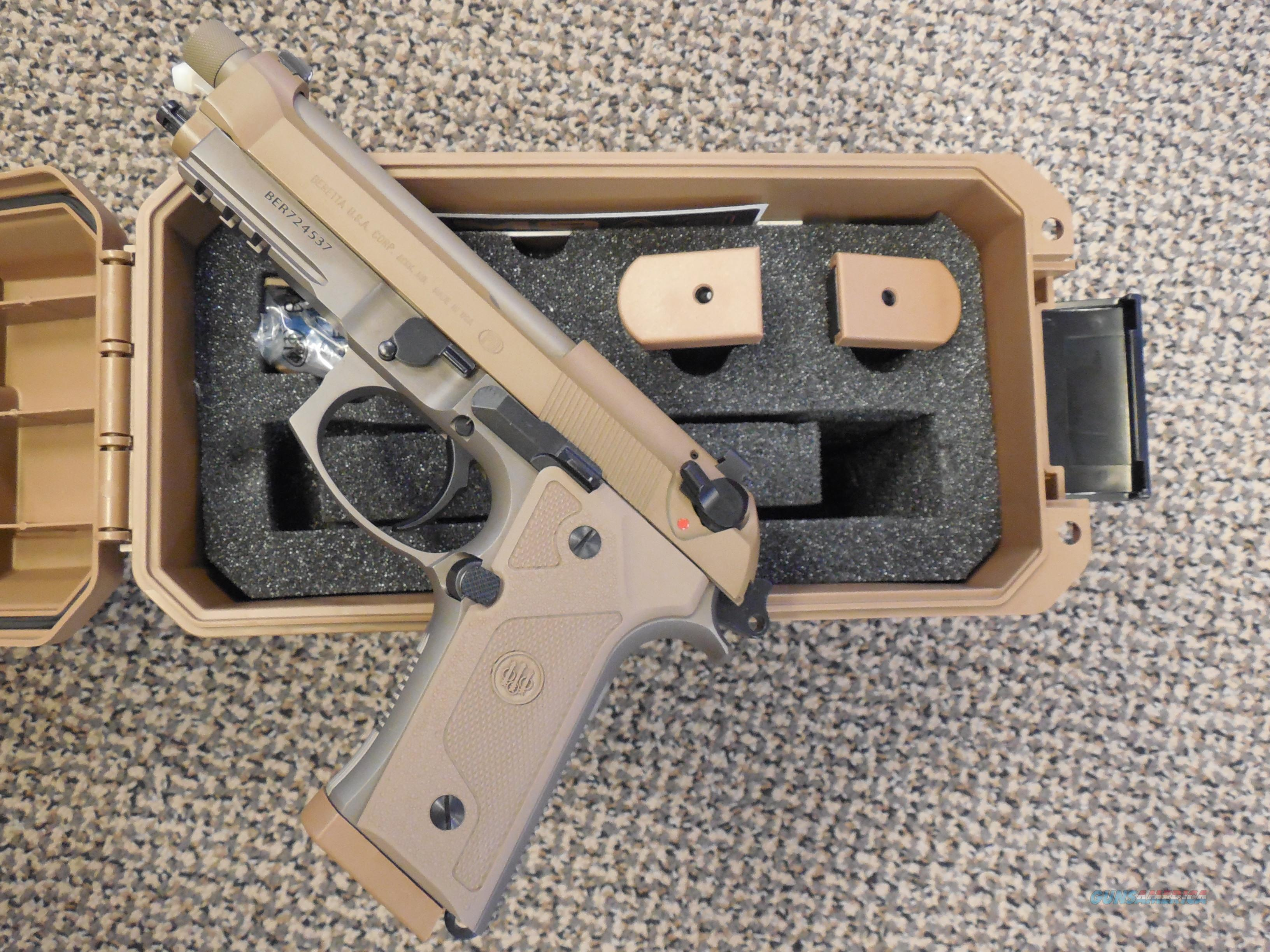 BERETTA M9A3 LIMITED AVAILABILITY PISTOL KIT  Guns > Pistols > Beretta Pistols > M9