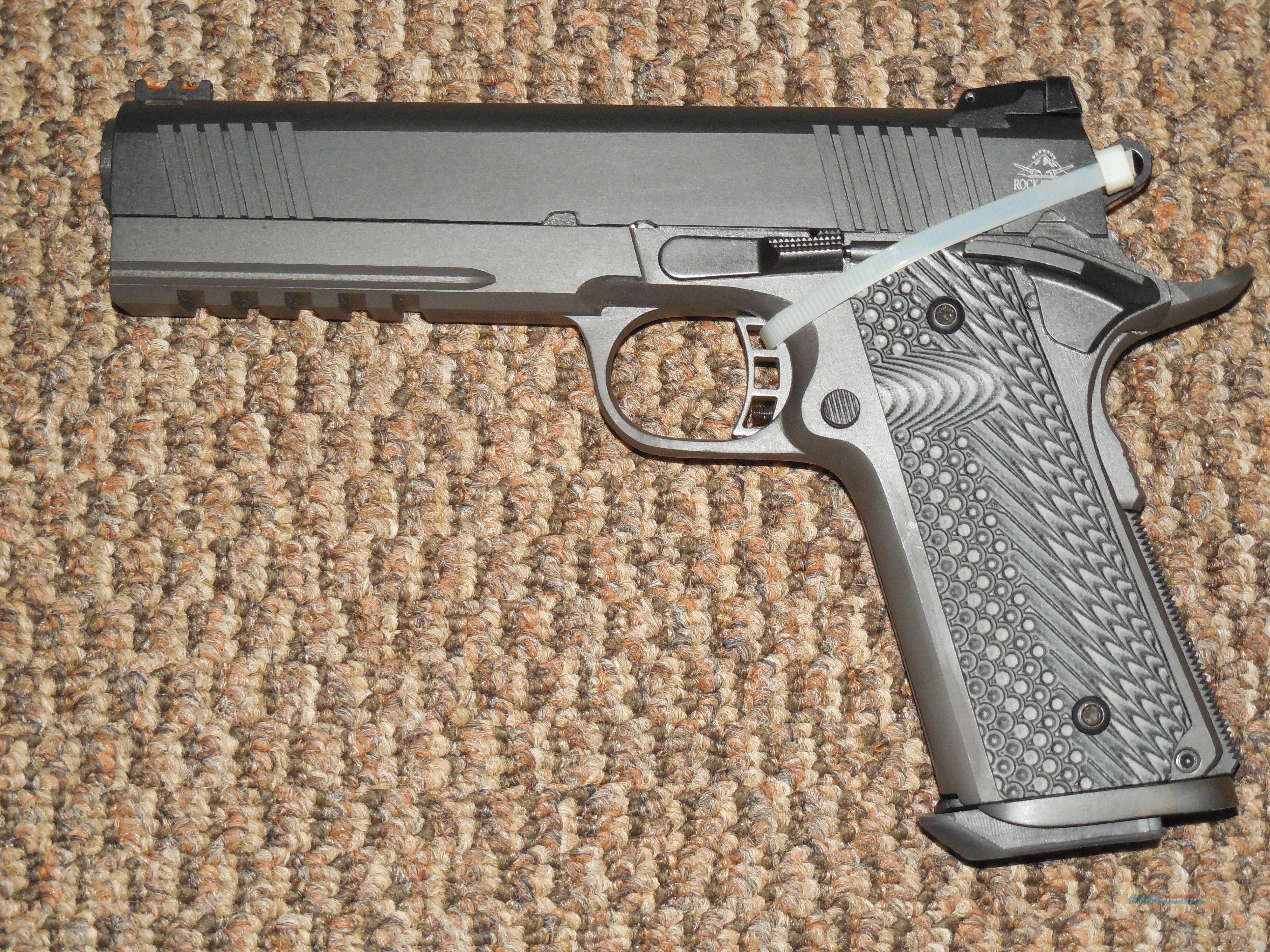 ROCK ISLAND ARMORY TACTICAL 1911 PISTOL IN 10 MM!!!!  Guns > Pistols > 1911 Pistol Copies (non-Colt)