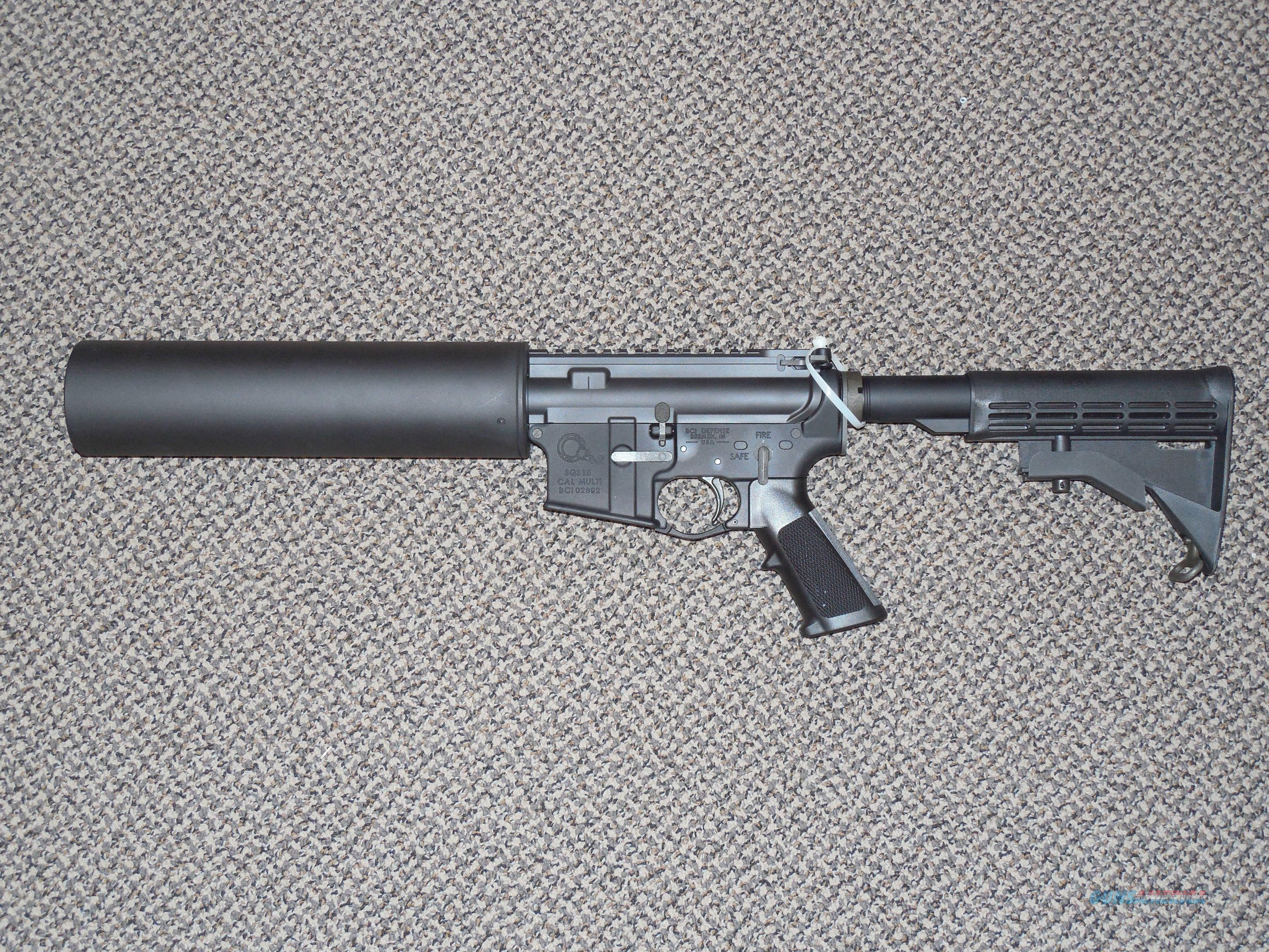 "X-PRODUCTS ""CAN LAUNCHER"" COMPLETE WITH BCI LOWER  Guns > Rifles > AR-15 Rifles - Small Manufacturers > Complete Rifle"
