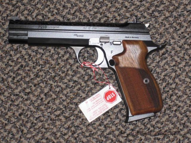 SIG SAUER P-210, ENGRAVED!!!  Guns > Pistols > Sig - Sauer/Sigarms Pistols > Other