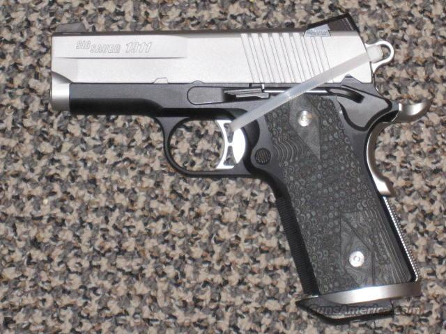 SIG SAUER 1911 ULTRA COMPACT TWO-TONE  Guns > Pistols > Sig - Sauer/Sigarms Pistols > 1911