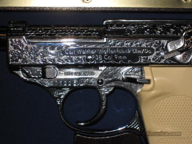 WALTHER P-38, FACTORY ENGRAVED!!!  Guns > Pistols > Walther Pistols > Post WWII > P38