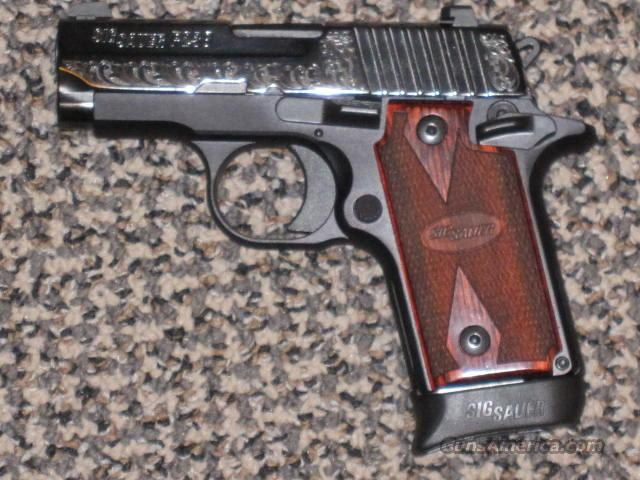 SIG SAUER P-238 ENGRAVED .380 ACP  Guns > Pistols > Sig - Sauer/Sigarms Pistols > P238