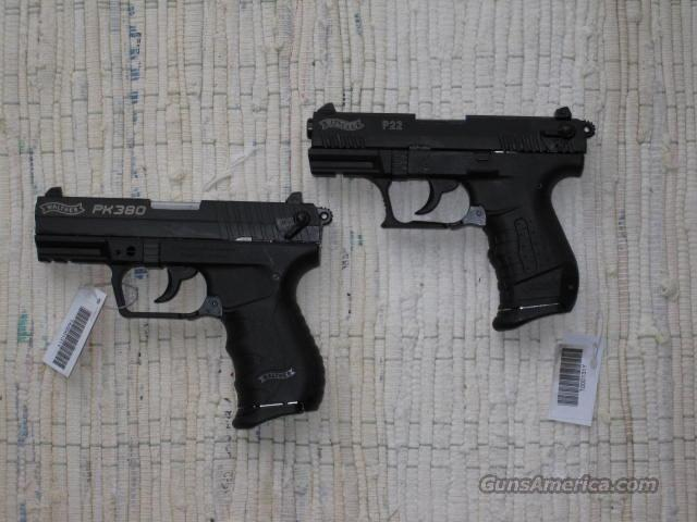 WALTHER MATCH SET PK380 & P22!!!!  Guns > Pistols > Walther Pistols > Post WWII > PP Series