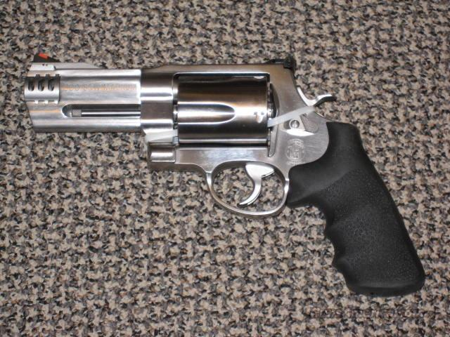 S&W M-500 MAGNUM 4-INCH  Guns > Pistols > Smith & Wesson Revolvers > Full Frame Revolver