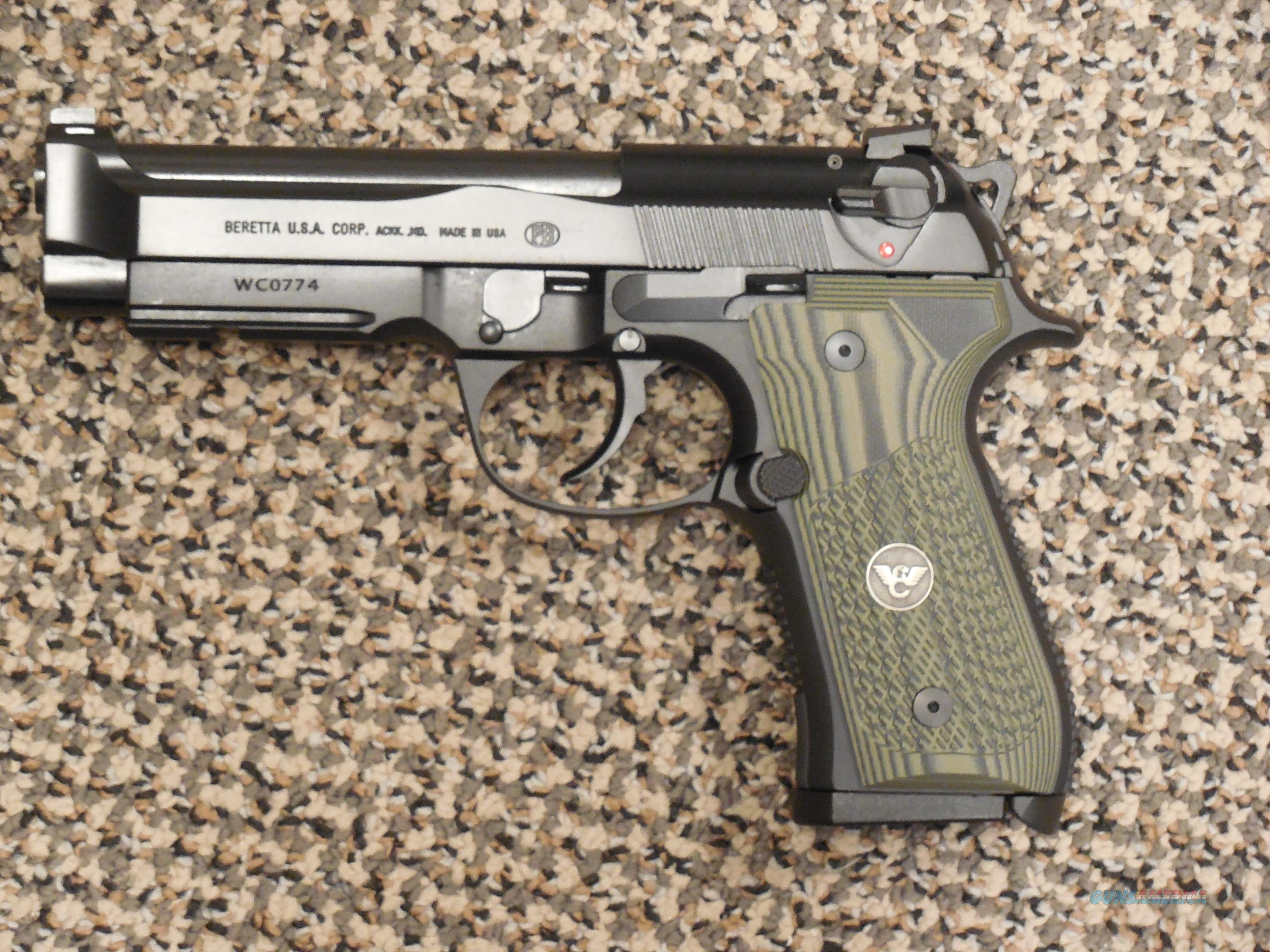 WILSON/BERETTA 92 G BRIGADIER TACTICAL PISTOL WITH OPTIONS  Guns > Pistols > Wilson Combat Pistols