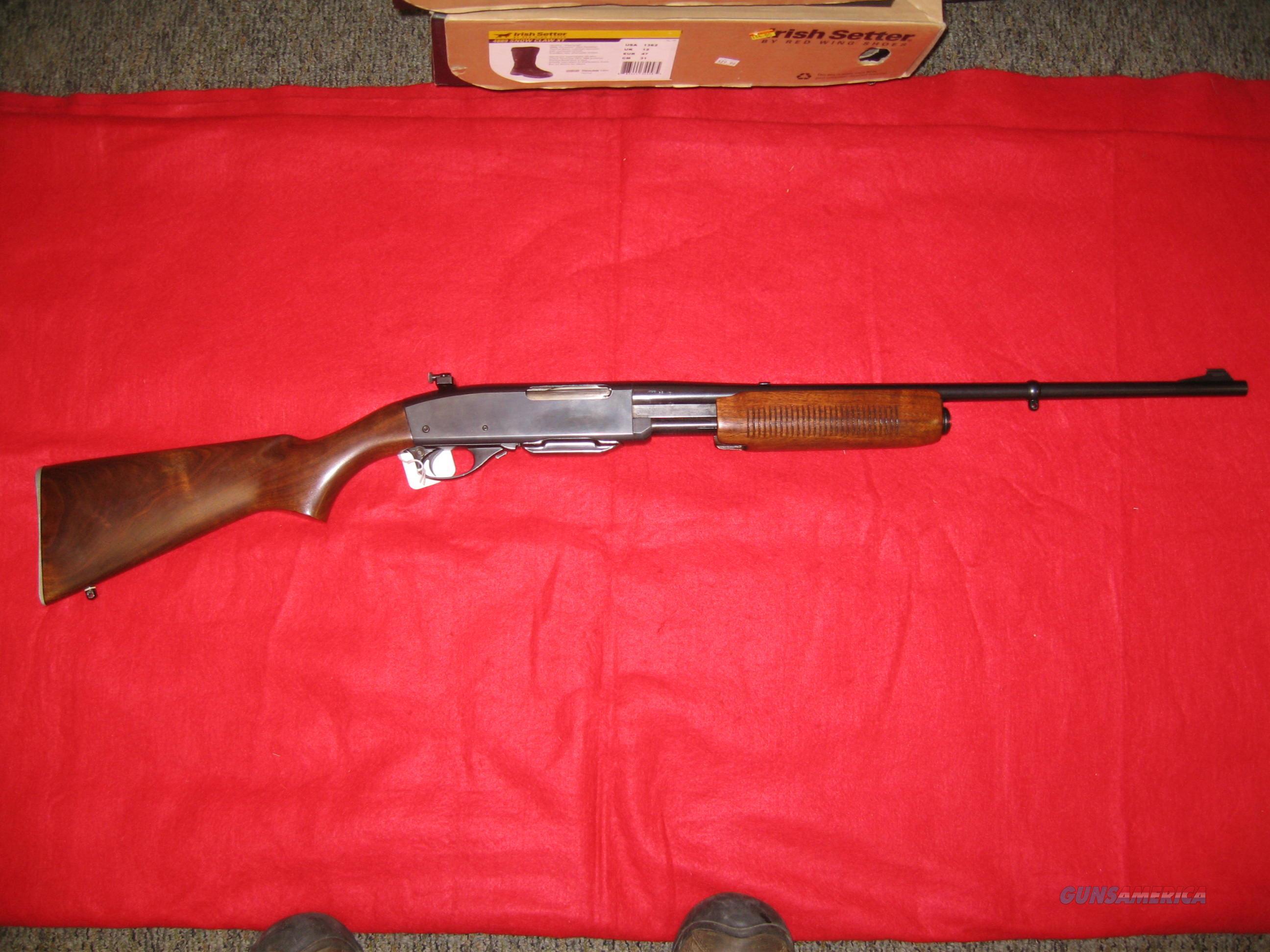 Remington 760 pump action in 35 Remington