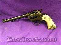 Ruger Bisley Single Six RCA gun REDUCED  Ruger Single Action Revolvers > Single Six Type