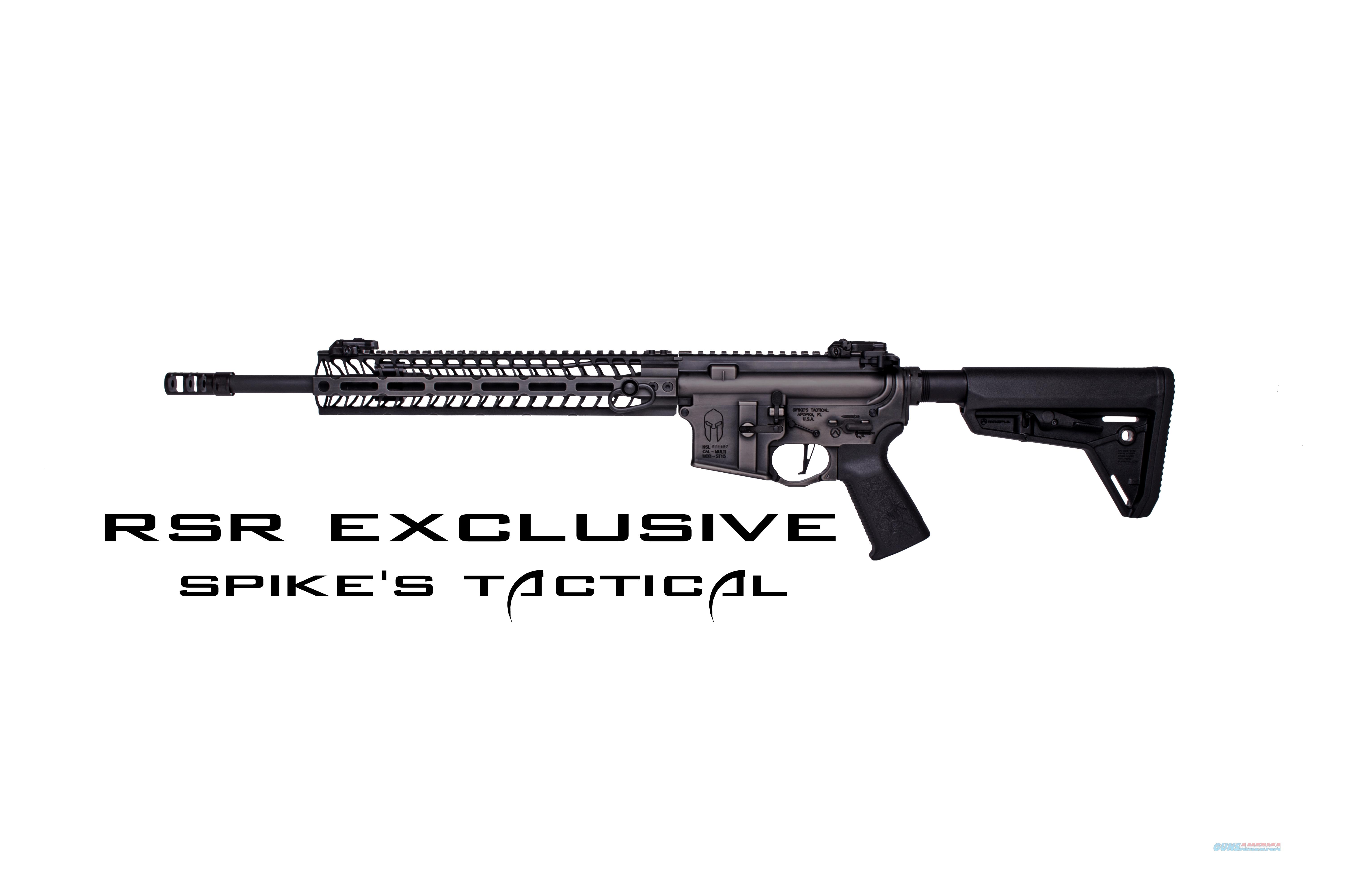 SPIKES TACTICAL SPARTAN  FREE SHIPPING  Guns > Rifles > Spikes Tactical Rifles