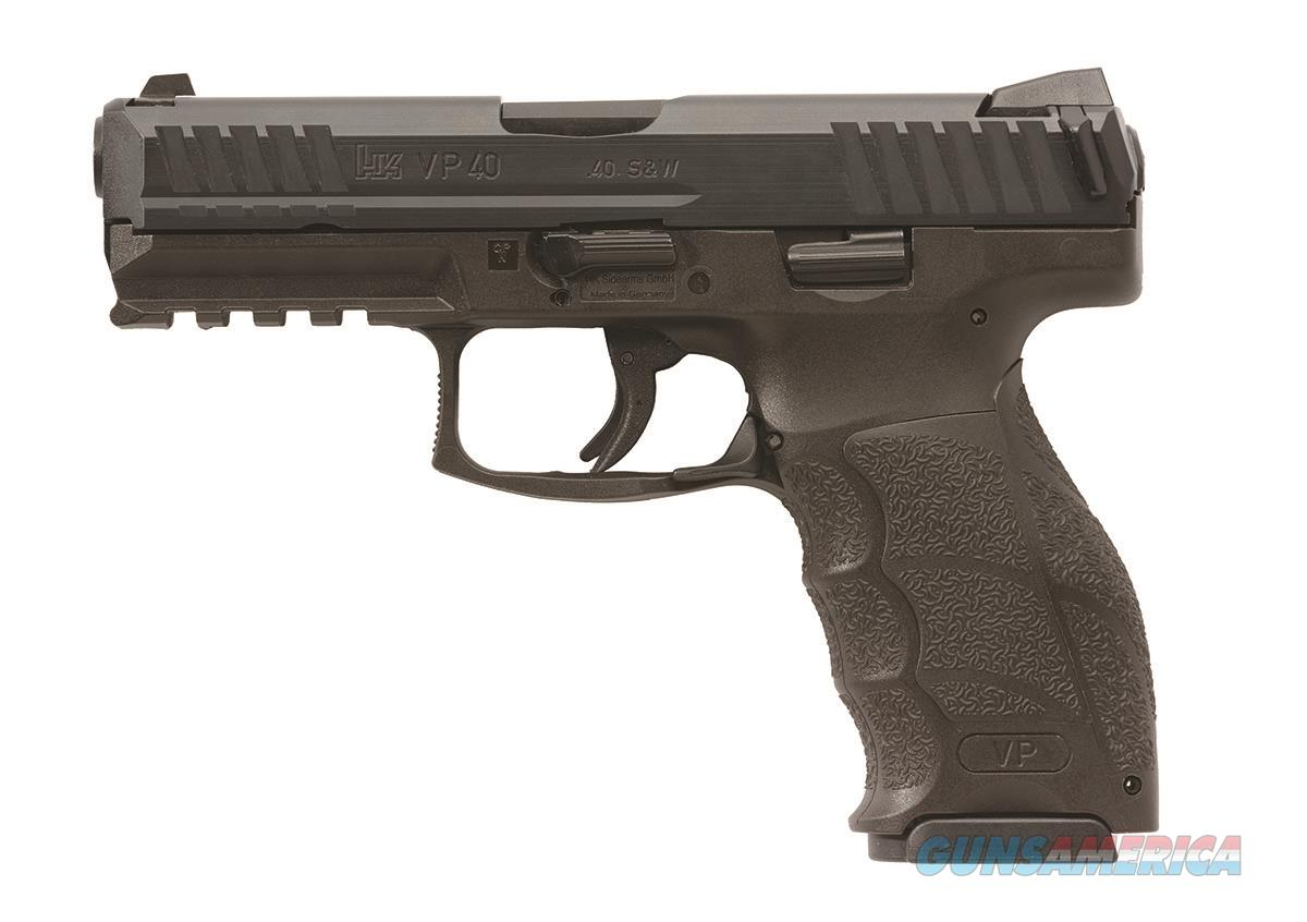 HK VP40 .40 S&W Handgun 3-13 Round Magazines 3-Dot Tritium Night Sights - 700040LE-A5  Guns > Pistols > Heckler & Koch Pistols > Polymer Frame