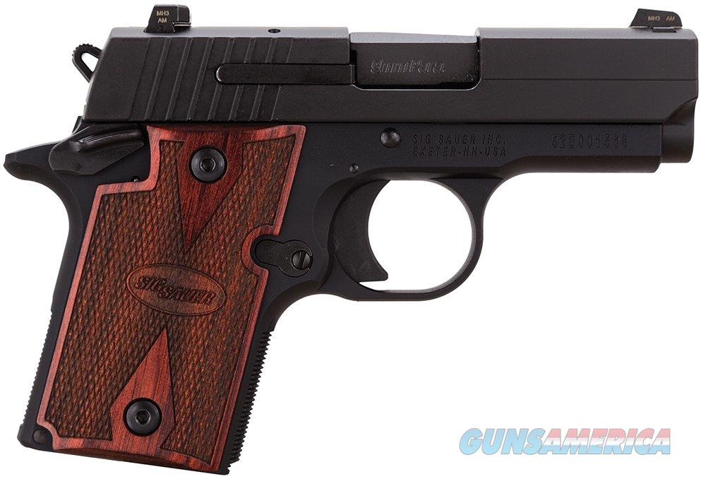 SIG P938 w Rosewood grips and night sights  Guns > Pistols > Sig - Sauer/Sigarms Pistols > P238
