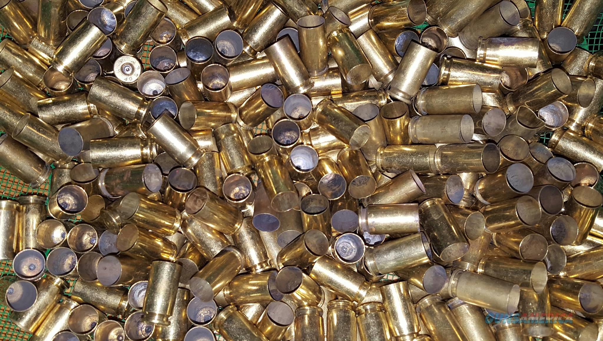 1000 pc 40 cal s&w reloading brass  Non-Guns > Reloading > Components > Brass