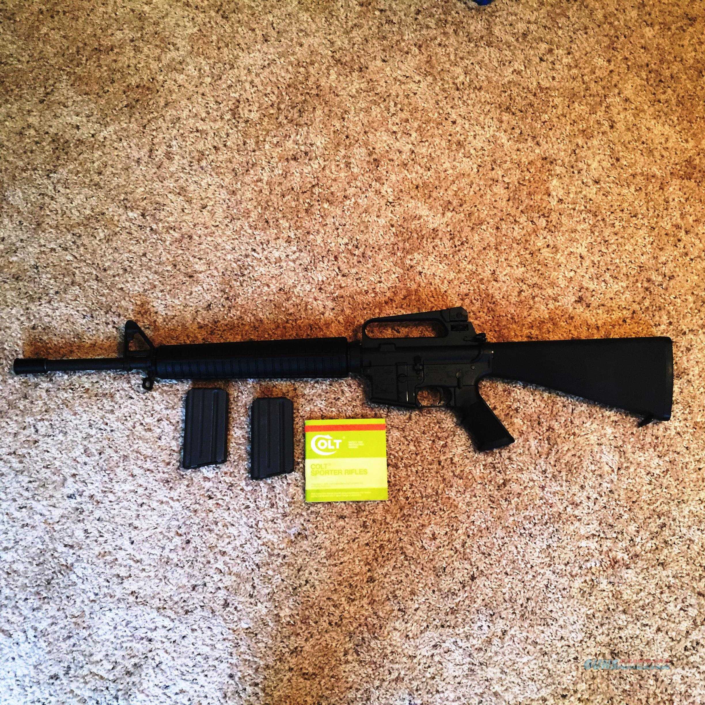 Colt AR-15 Match H-Bar 5.56 - Pre-Ban  Guns > Rifles > Colt Military/Tactical Rifles