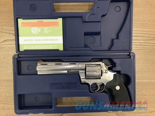Colt Anaconda 44 mag  Guns > Pistols > Colt Double Action Revolvers- Modern