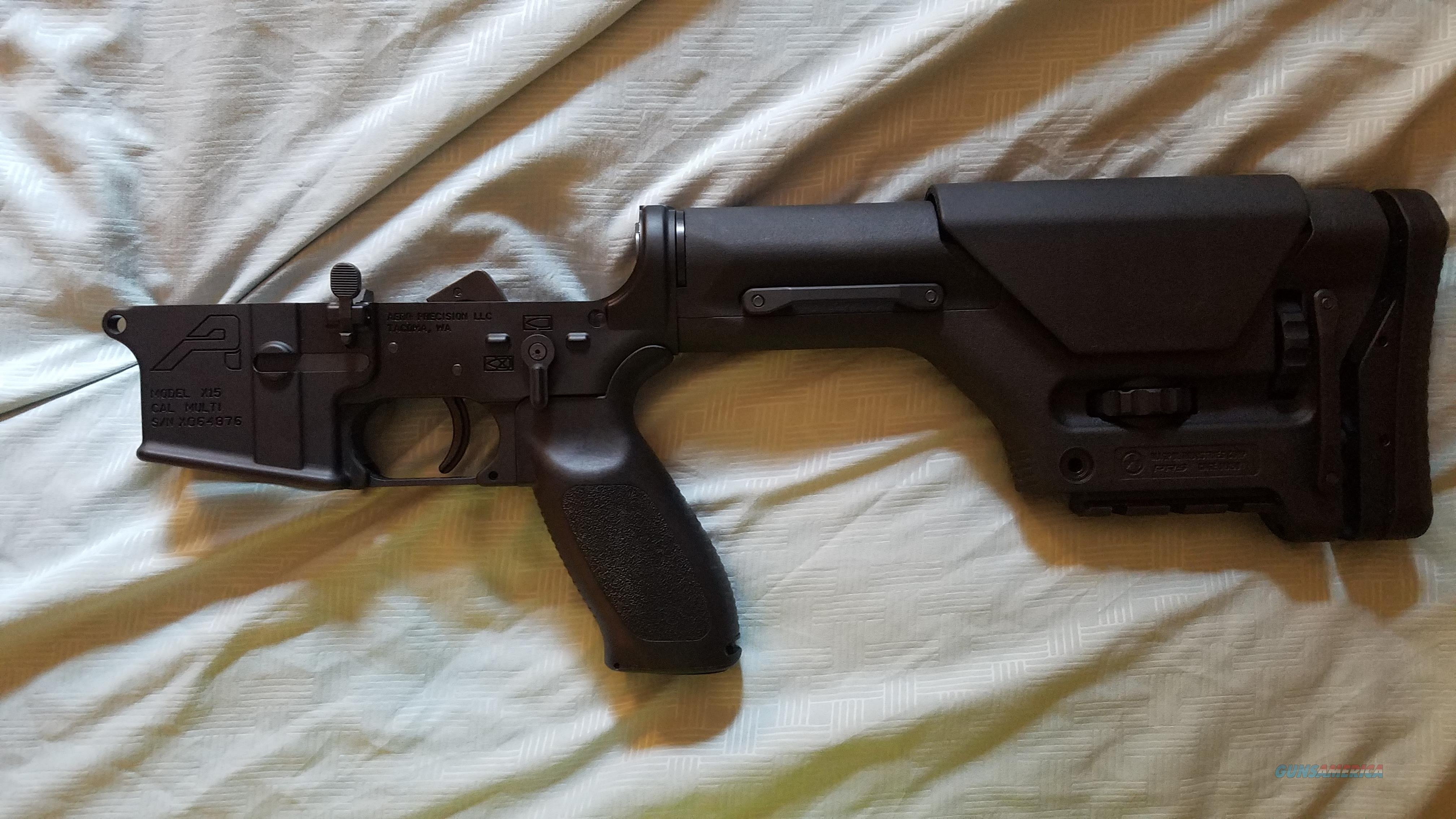 Aero precision lower with franklin armory double trigger MAKE AN OFFER   Guns > Rifles > O Misc Rifles
