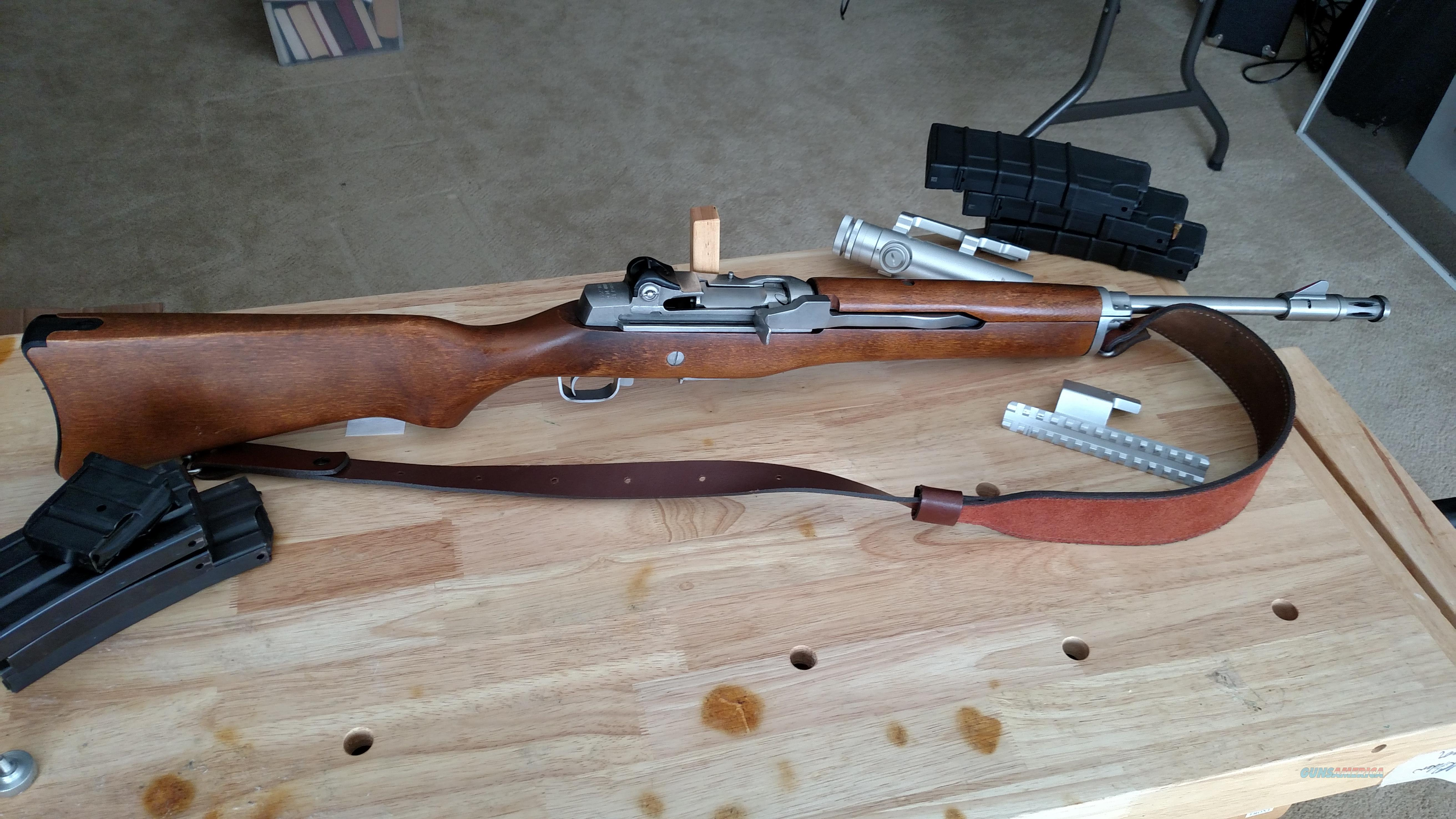 Ruger Mini 14 rifle  Guns > Rifles > Ruger Rifles > Mini-14 Type