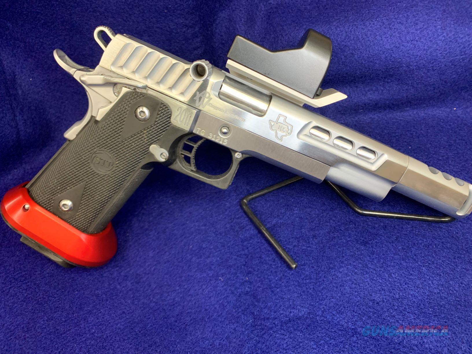 Cogan Custom STI 2011 Open Gun, 38 Super  Guns > Pistols > STI Pistols