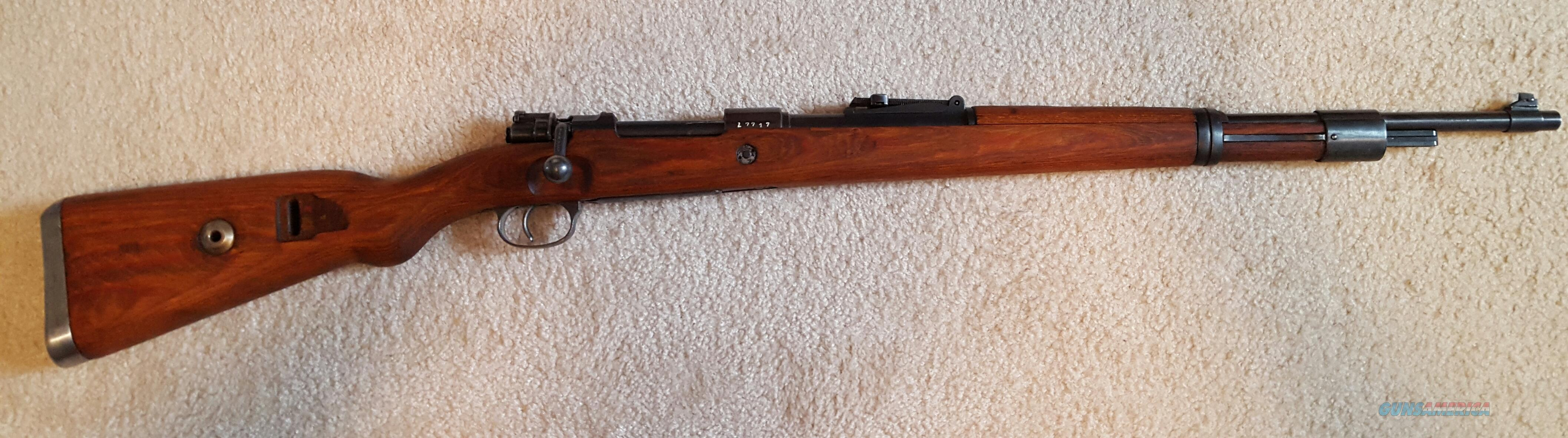 Mauser 98  Guns > Rifles > Mauser Rifles > German