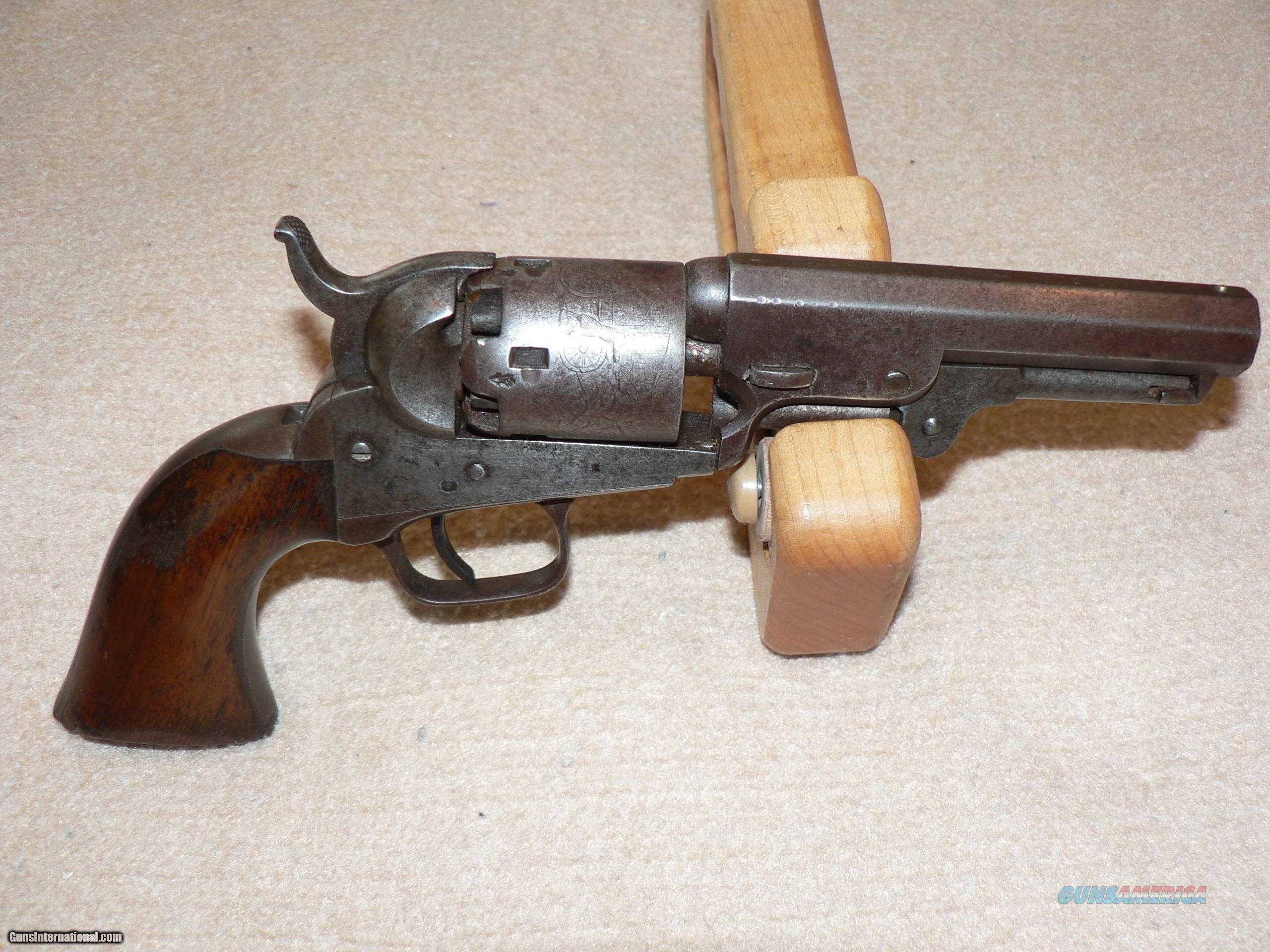 Model 1849 London Colt Revolver-Rare Iron Model  Guns > Pistols > Antique (Pre-1899) Pistols - Ctg. Misc.