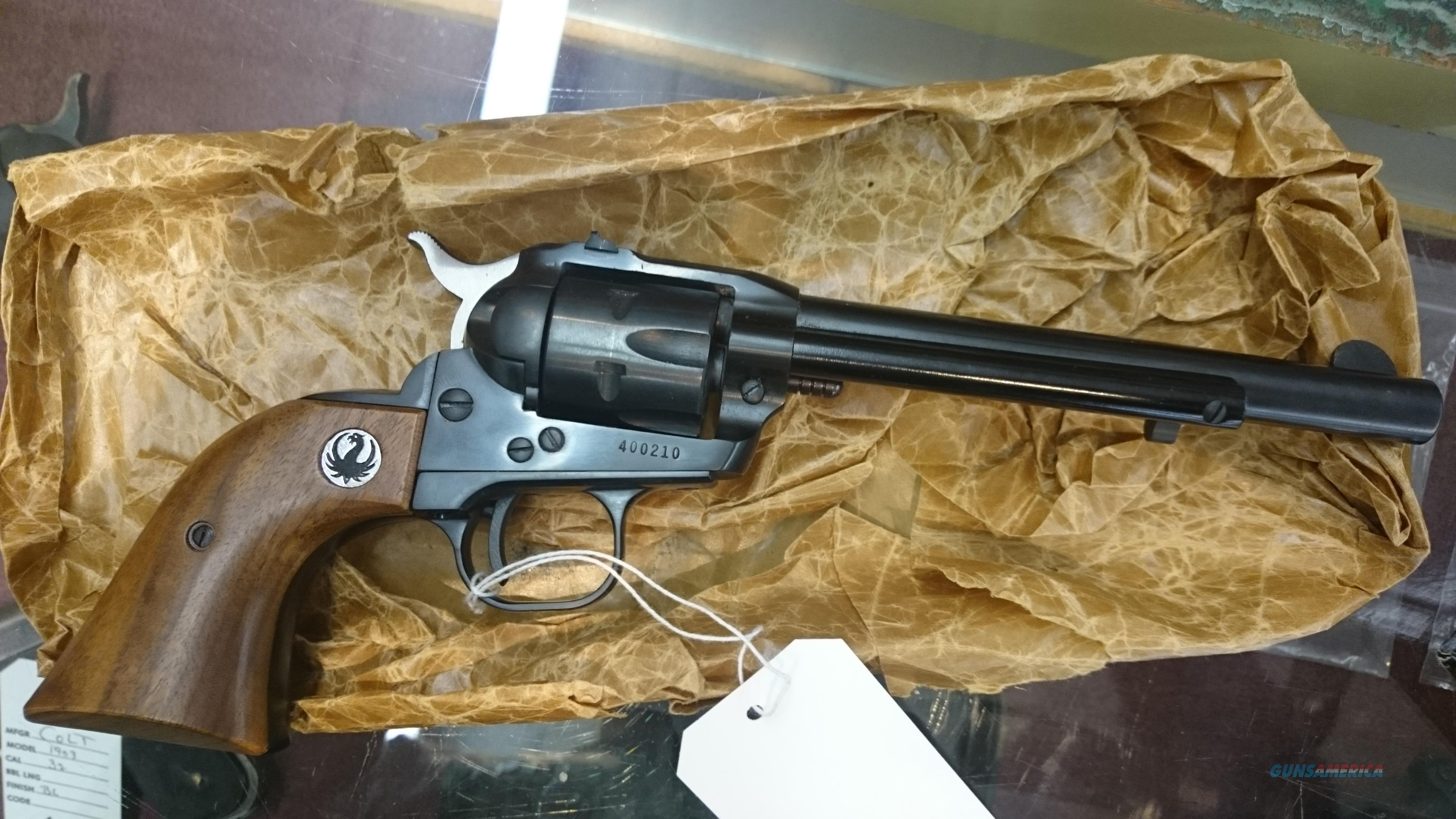"MINT in box 1964 Ruger Single Six 22lr/22mag 6.5"" bbl  Guns > Pistols > Ruger Single Action Revolvers > Single Six Type"