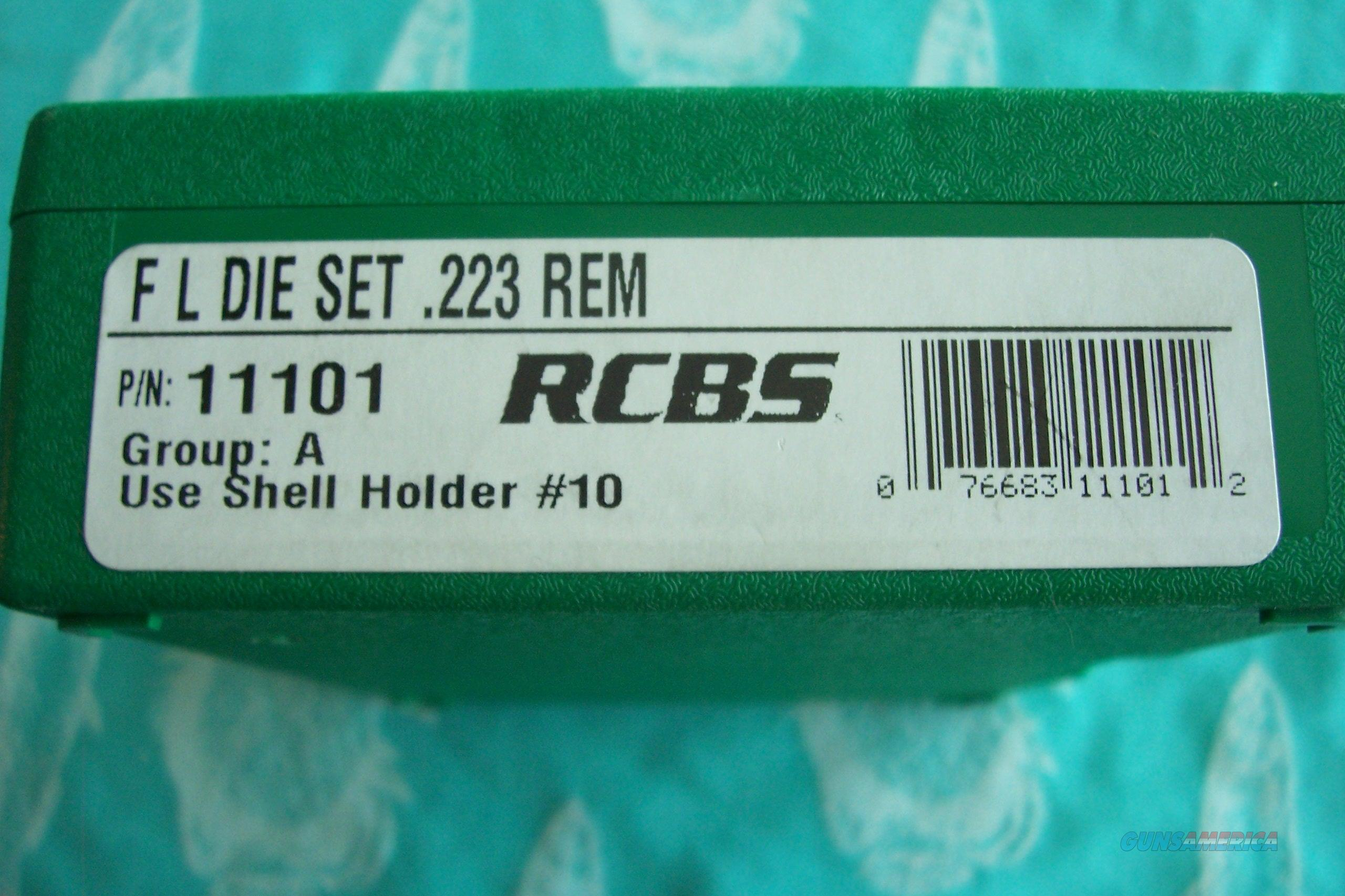 .223 RCBS Die Set  Non-Guns > Reloading > Components > Other