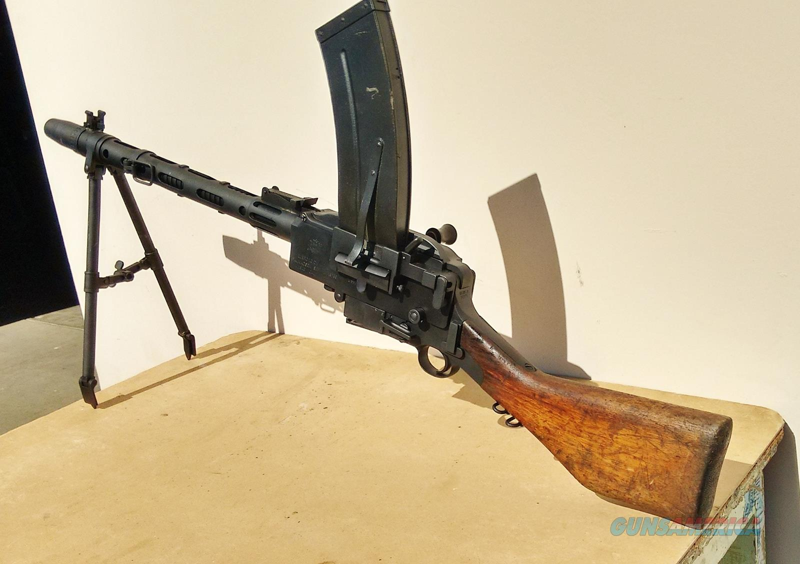 Semi auto Danish Madsen  Guns > Rifles > Military Misc. Rifles Non-US > Other