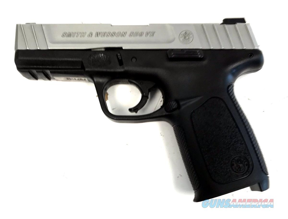 S & W SD9 VE Handgun 9 MM  Guns > Pistols > S Misc Pistols