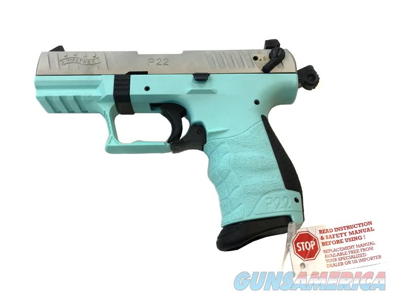 Walther P22 Angel Blue    Guns > Pistols > W Misc Pistols