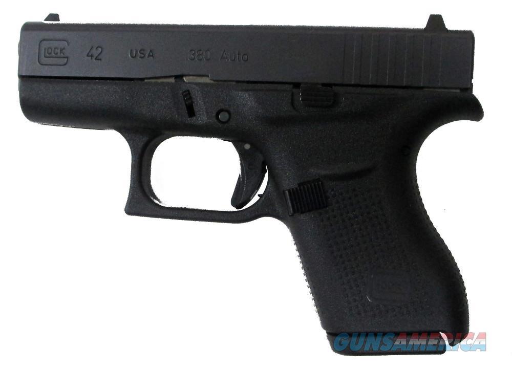 Glock G42 Subcompact - .380ACP Handgun .380 ACP  Guns > Pistols > G Misc Pistols