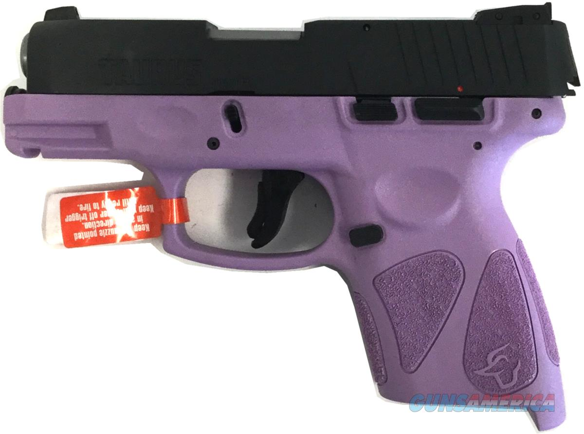 Taurus G2S 1-G2S931LP / Light Purple Handgun 9 MM  Guns > Pistols > TU Misc Pistols